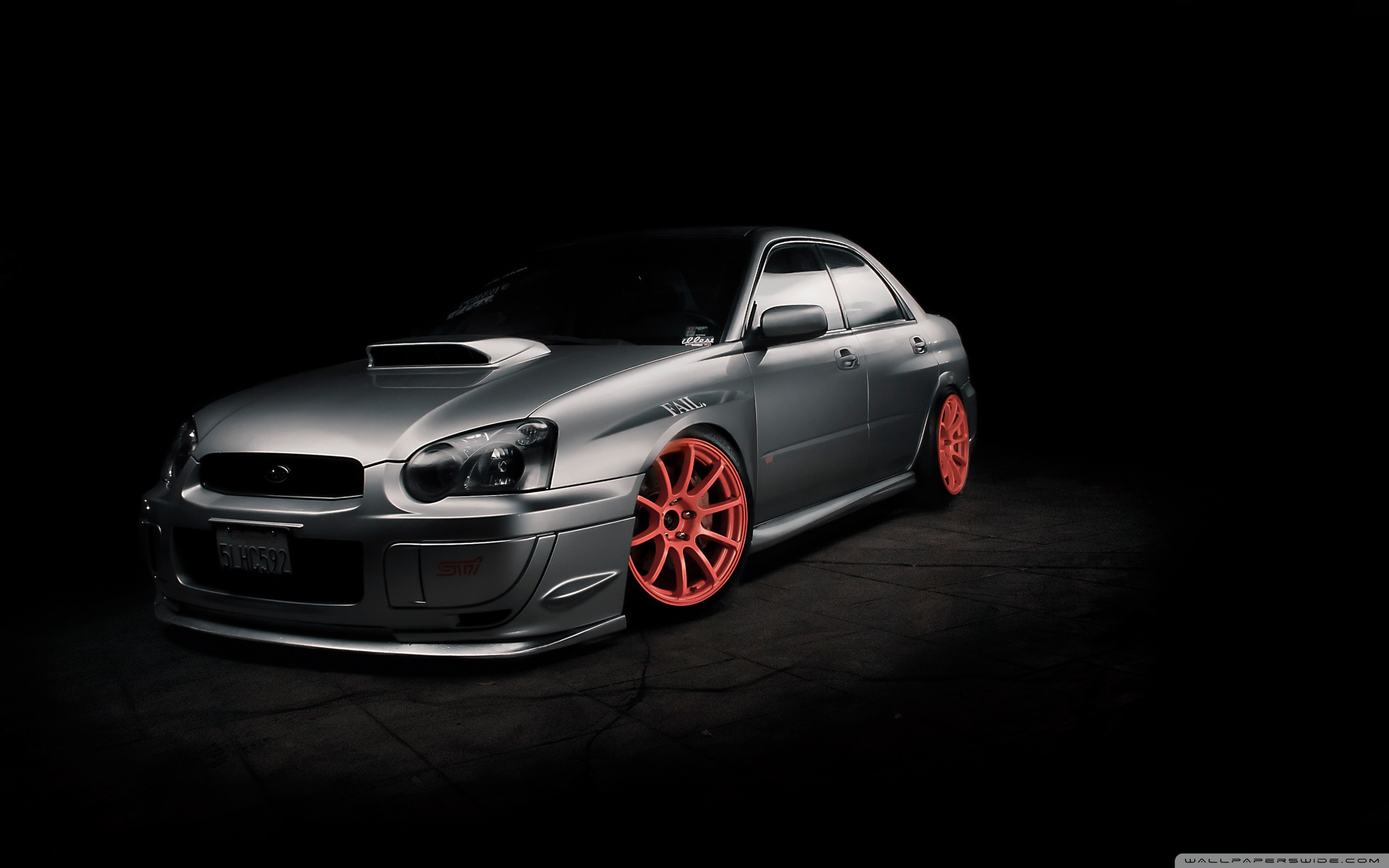 Subaru Impreza Tuning HD Wide Wallpaper for Widescreen