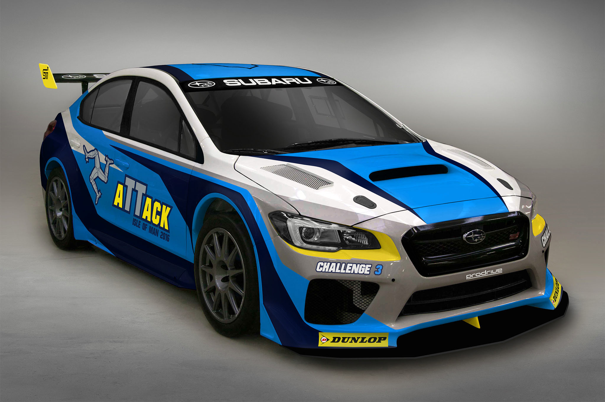 Image for 2016 Subaru WRX STI Race Car Wallpaper