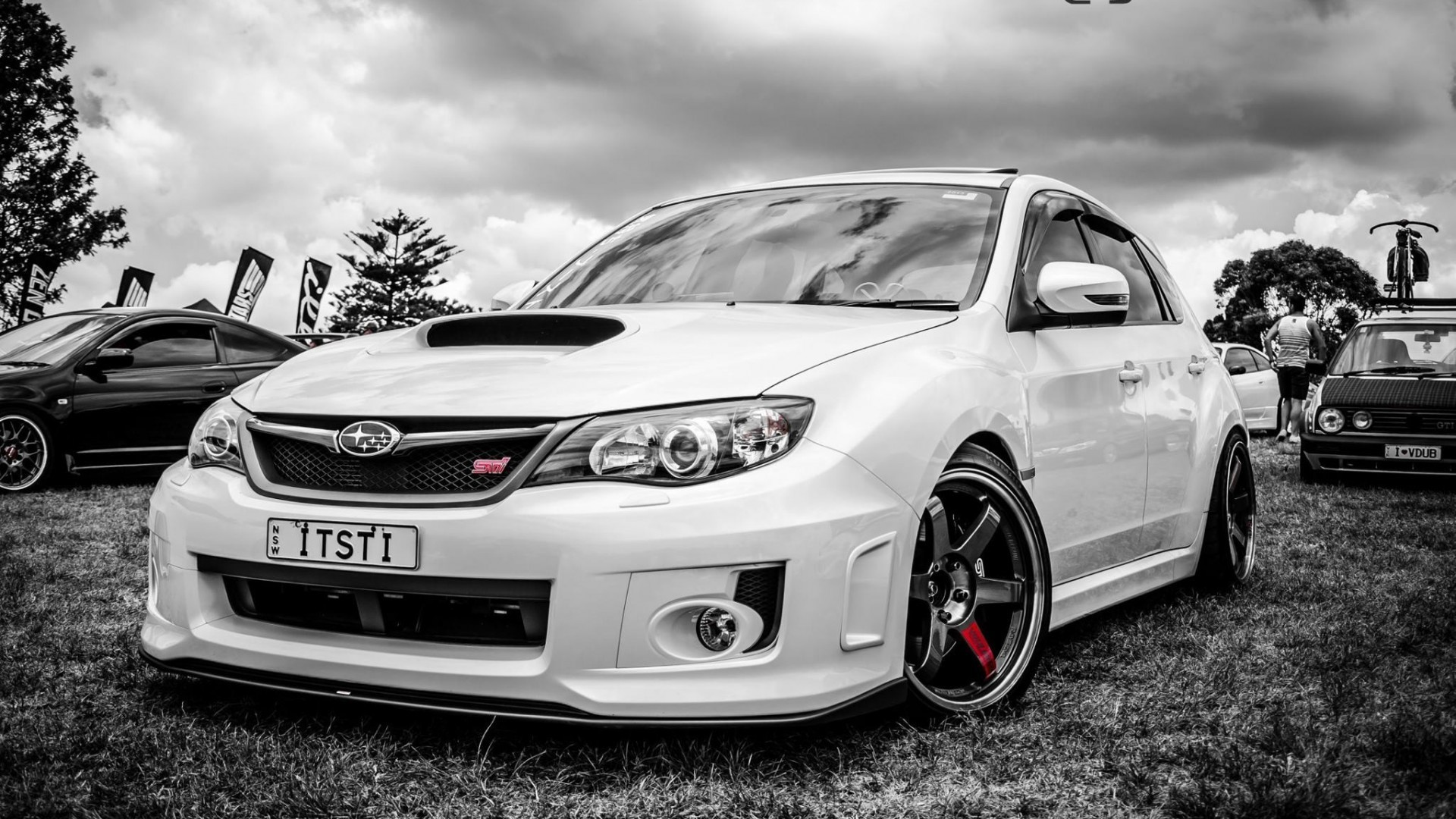 Subaru Impreza sti Car HD Wallpaper 1080p