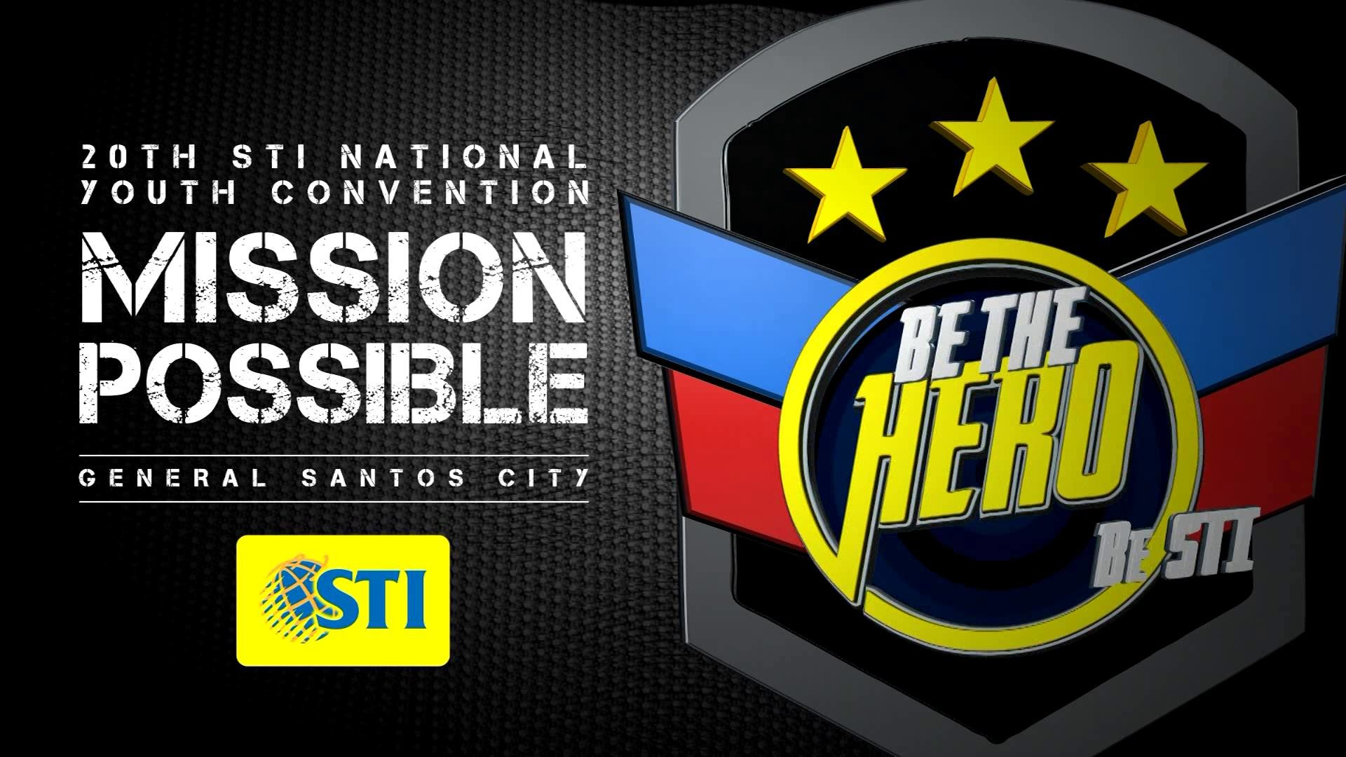 20th STI National Youth Convention: Mission Possible (Backdrop) – YouTube