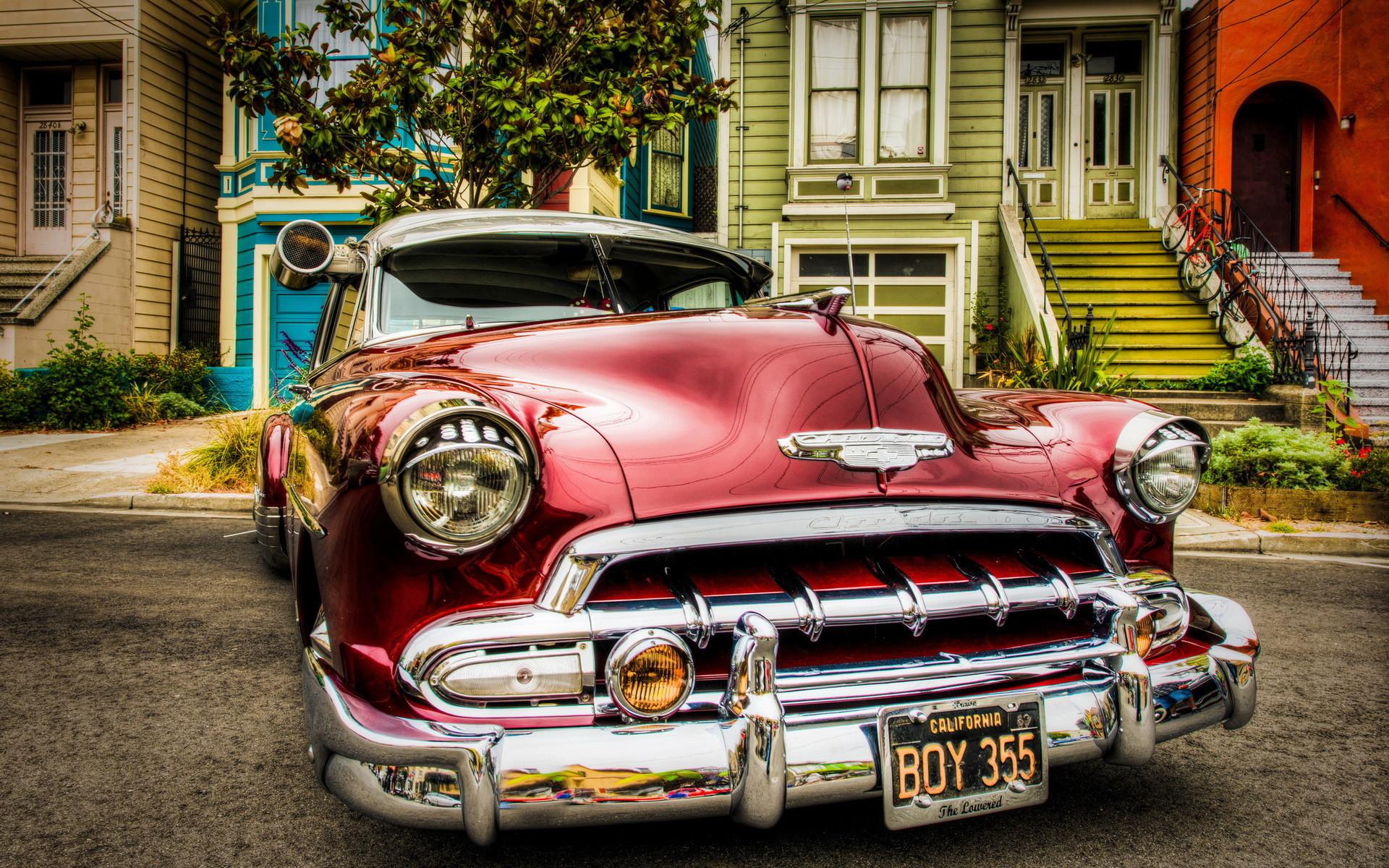 Classic Chevrolet car wallpaper   Chevrolet oldtimer