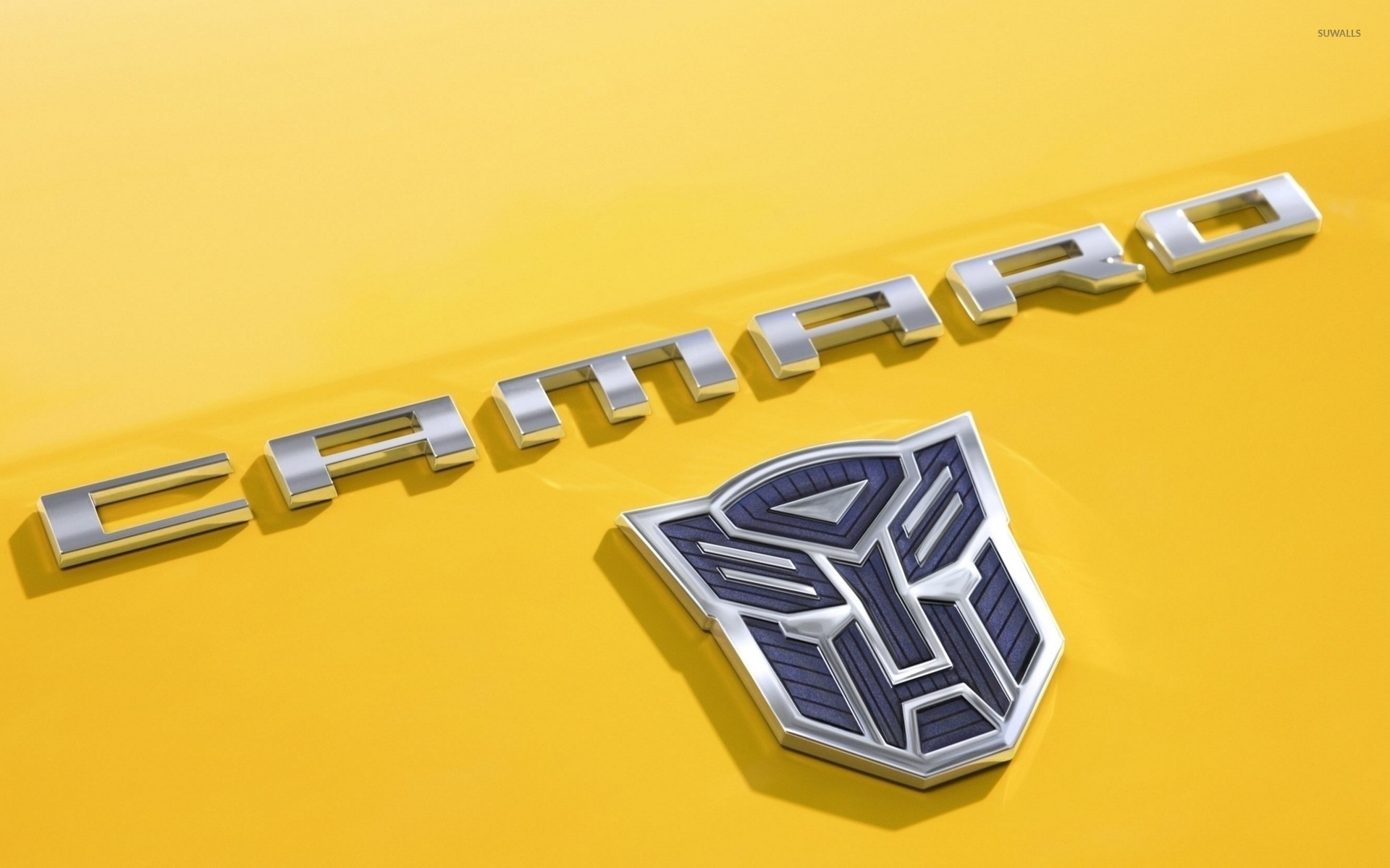 chevrolet camaro logo in transformers wallpaper – car wallpapers. Download  Image 1920 X 1200