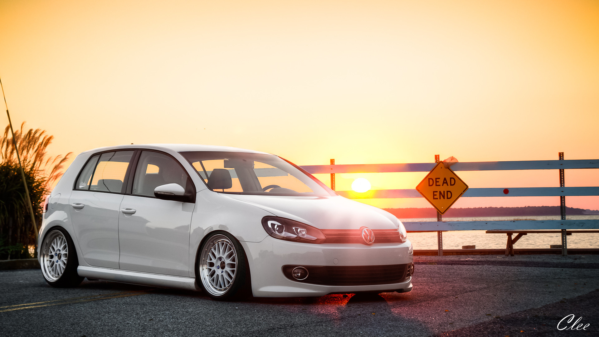 Volkswagen Golf Full HD Wallpaper 1920×1080