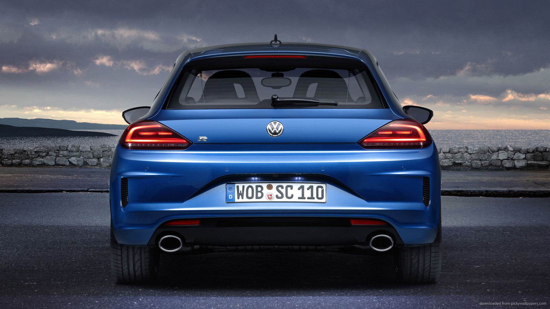 Volkswagen Scirocco Back picture
