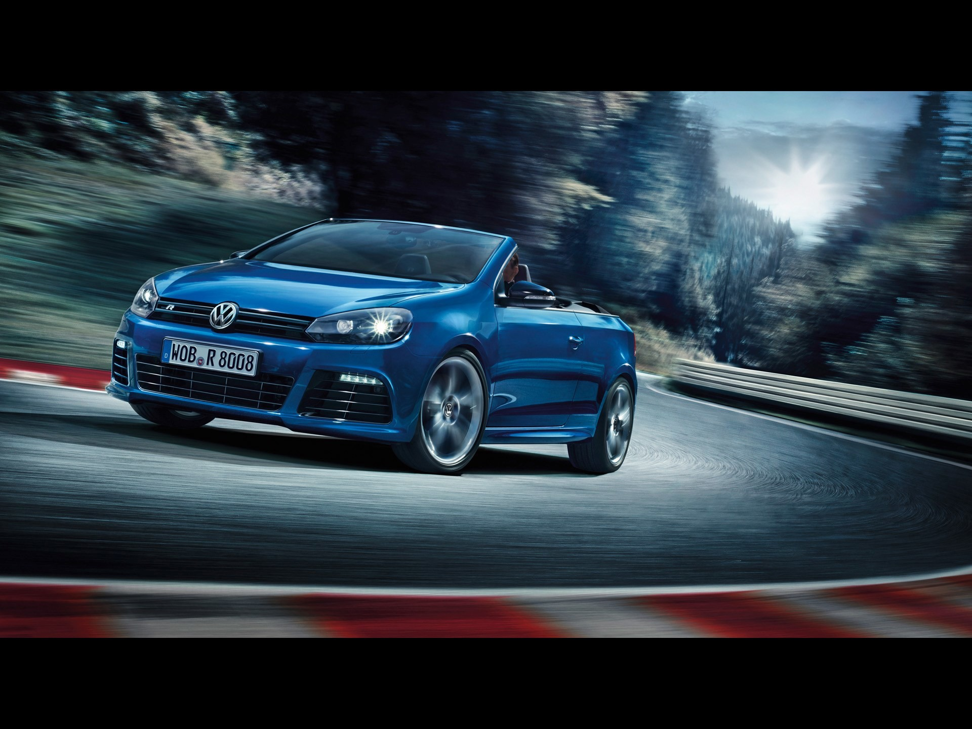 free screensaver wallpapers for 2013 volkswagen golf r cabriolet
