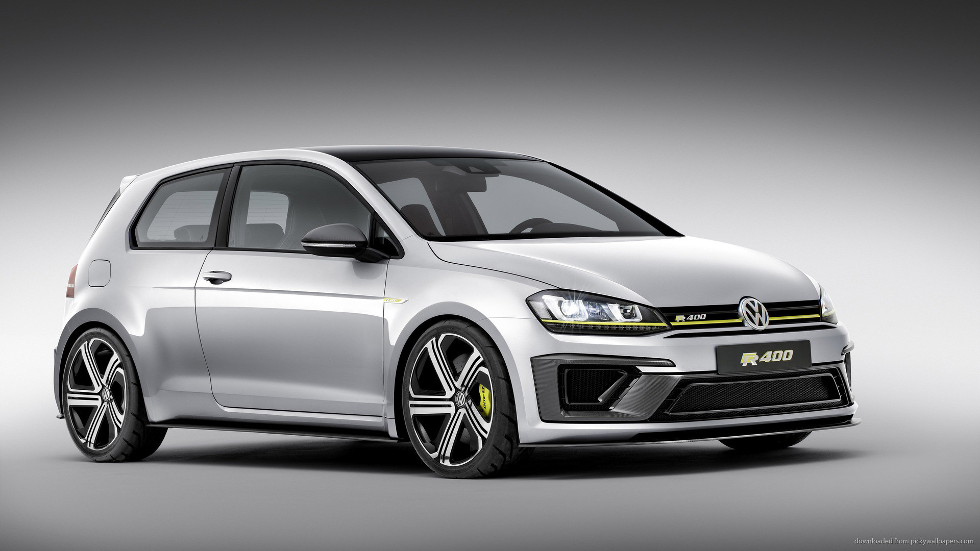 Volkswagen Golf R 400 Concept Car Coupe picture