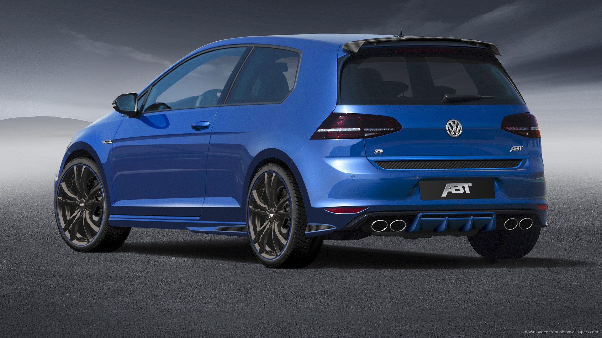 ABT Volkswagen Golf VII Back picture