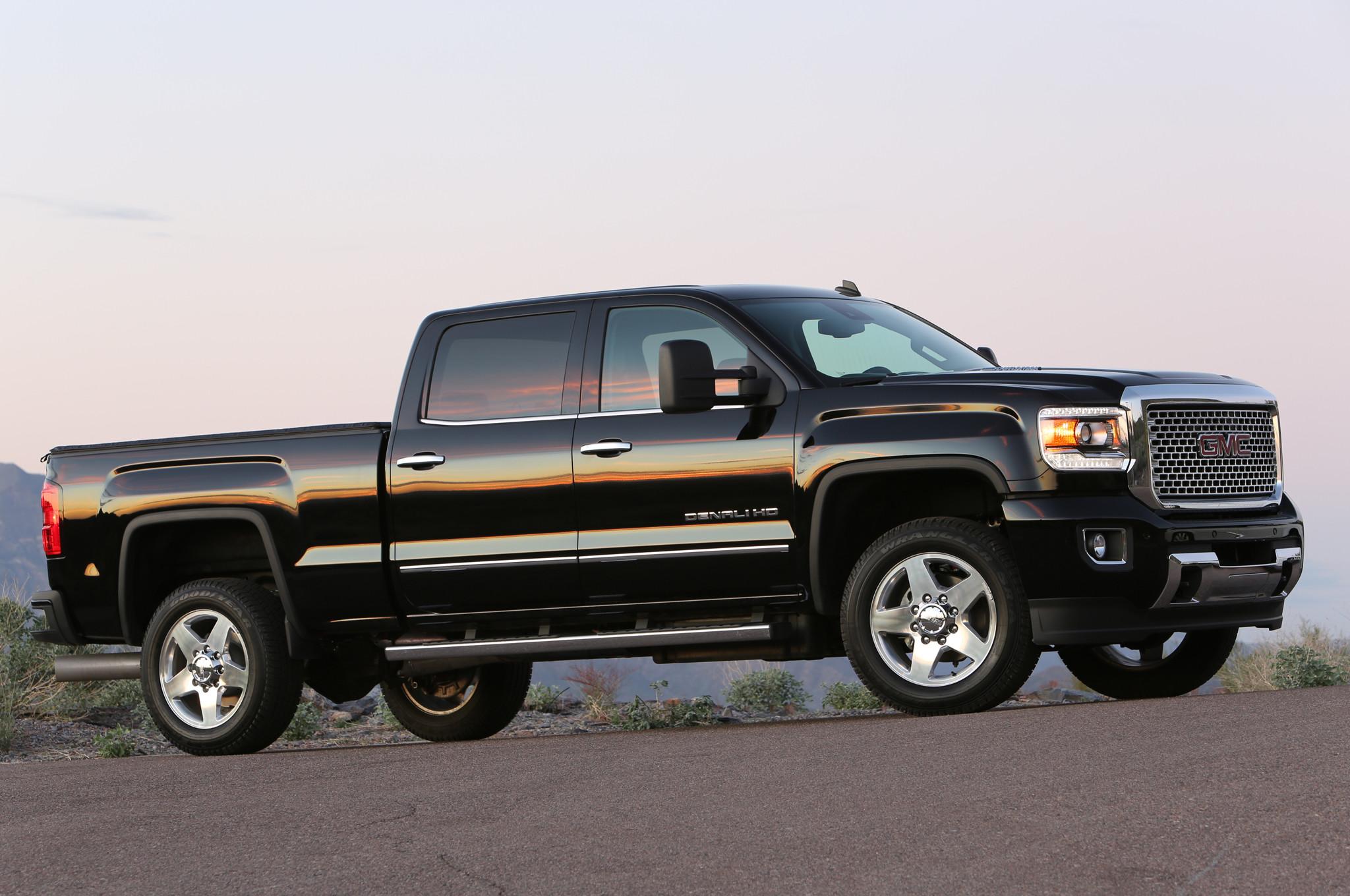 … Best Duramax Diesel For Sale About Gmc Sierra Hd Denali Front Three  Quarters View …