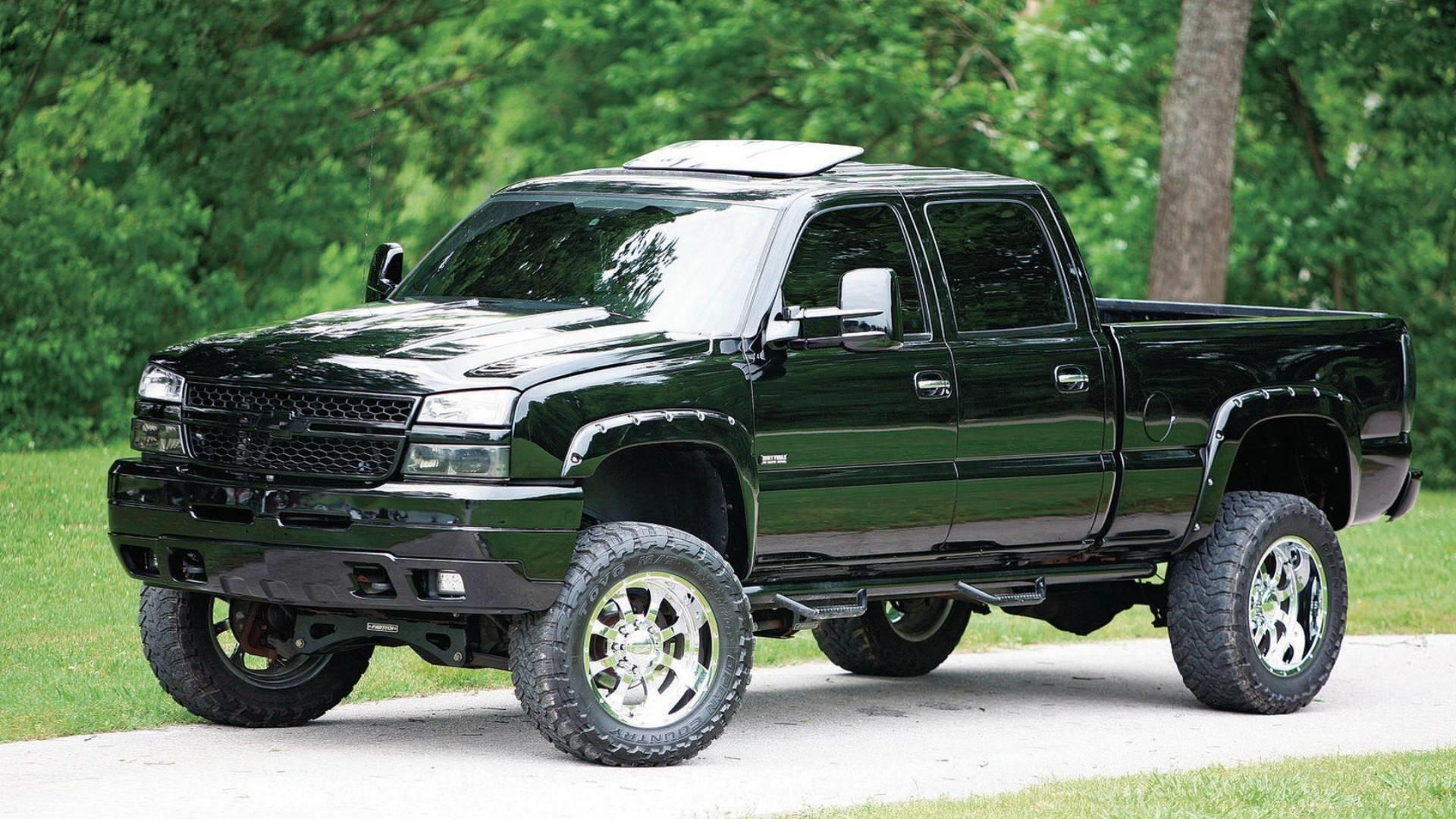 Chevrolet Lifted Pickup Wallpaper • iBackgroundWallpaper