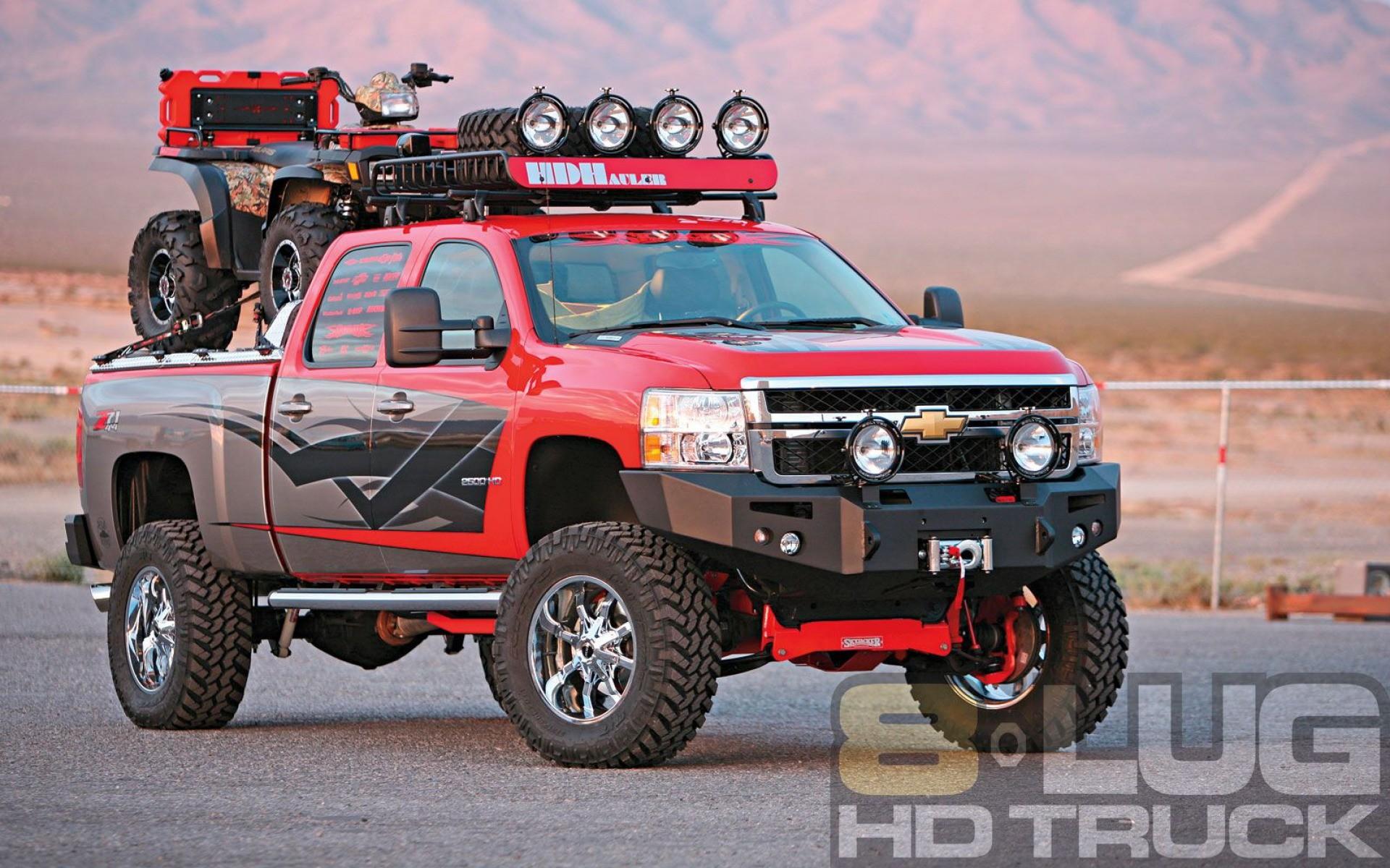Hd Wallpapers Chevy Silverado Wallpaper Lifted Trucks Black Dragon .