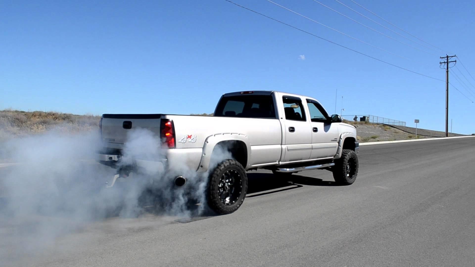 Chevy Duramax Diesel Burnout
