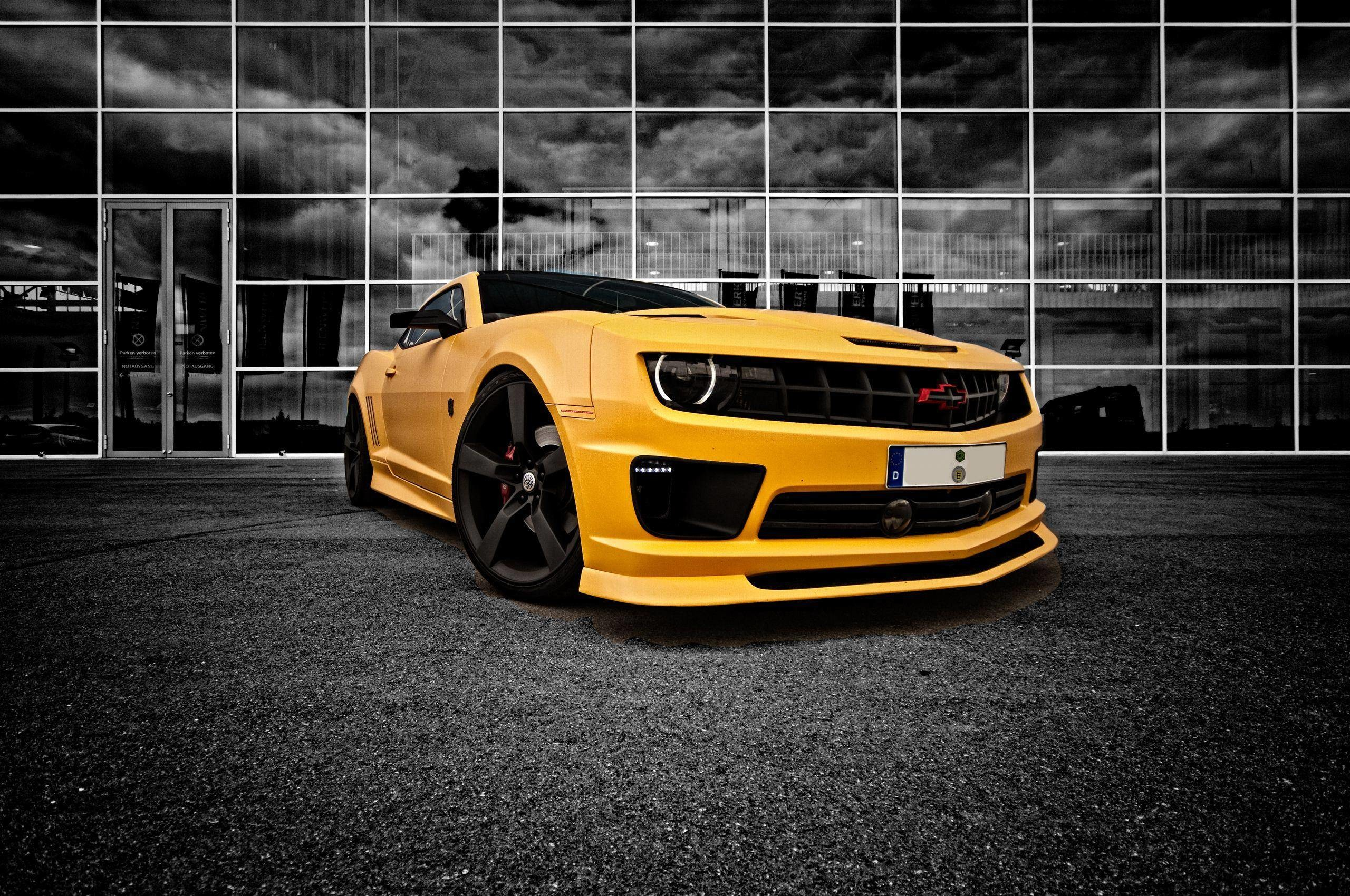 Bumblebee Camaro HD Desktop Wallpapers for Widescreen, High .