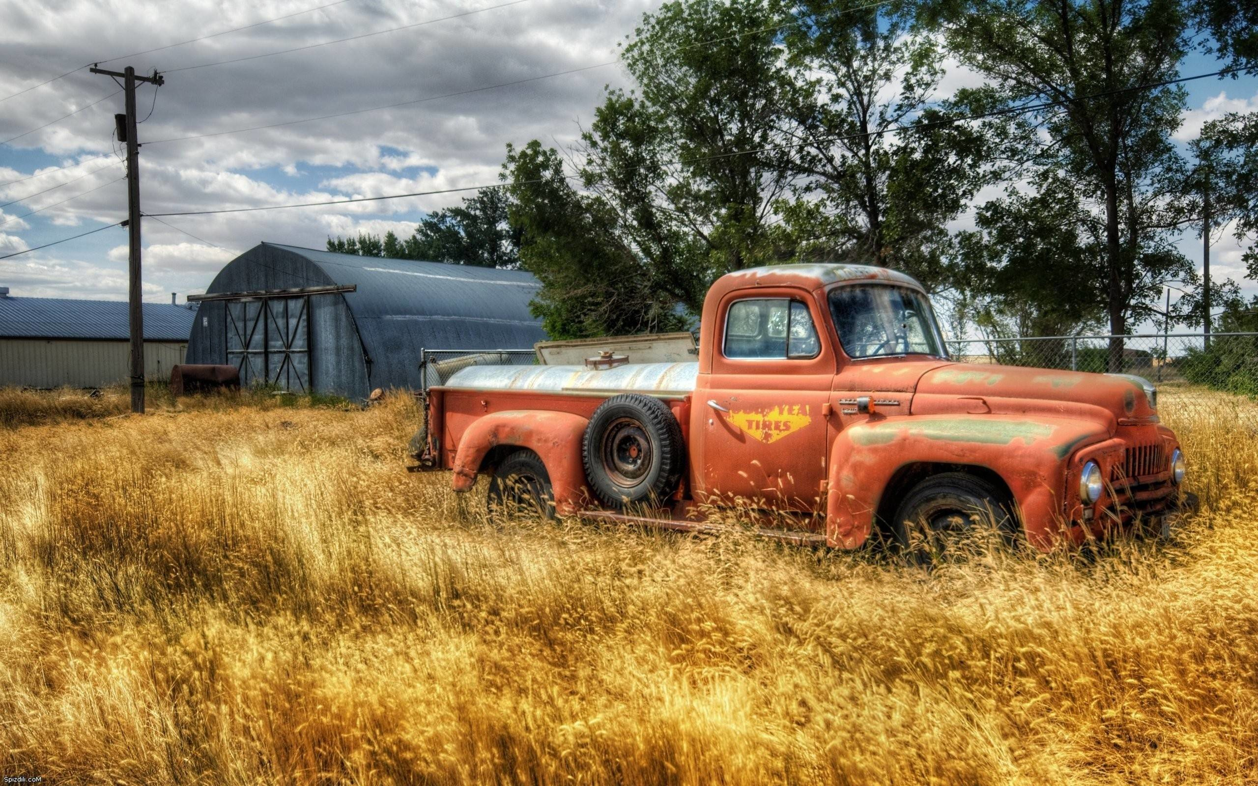 Old Rusted Truck Wallpapers Auto Desktop 2560x1600PX ~ Wallpaper .