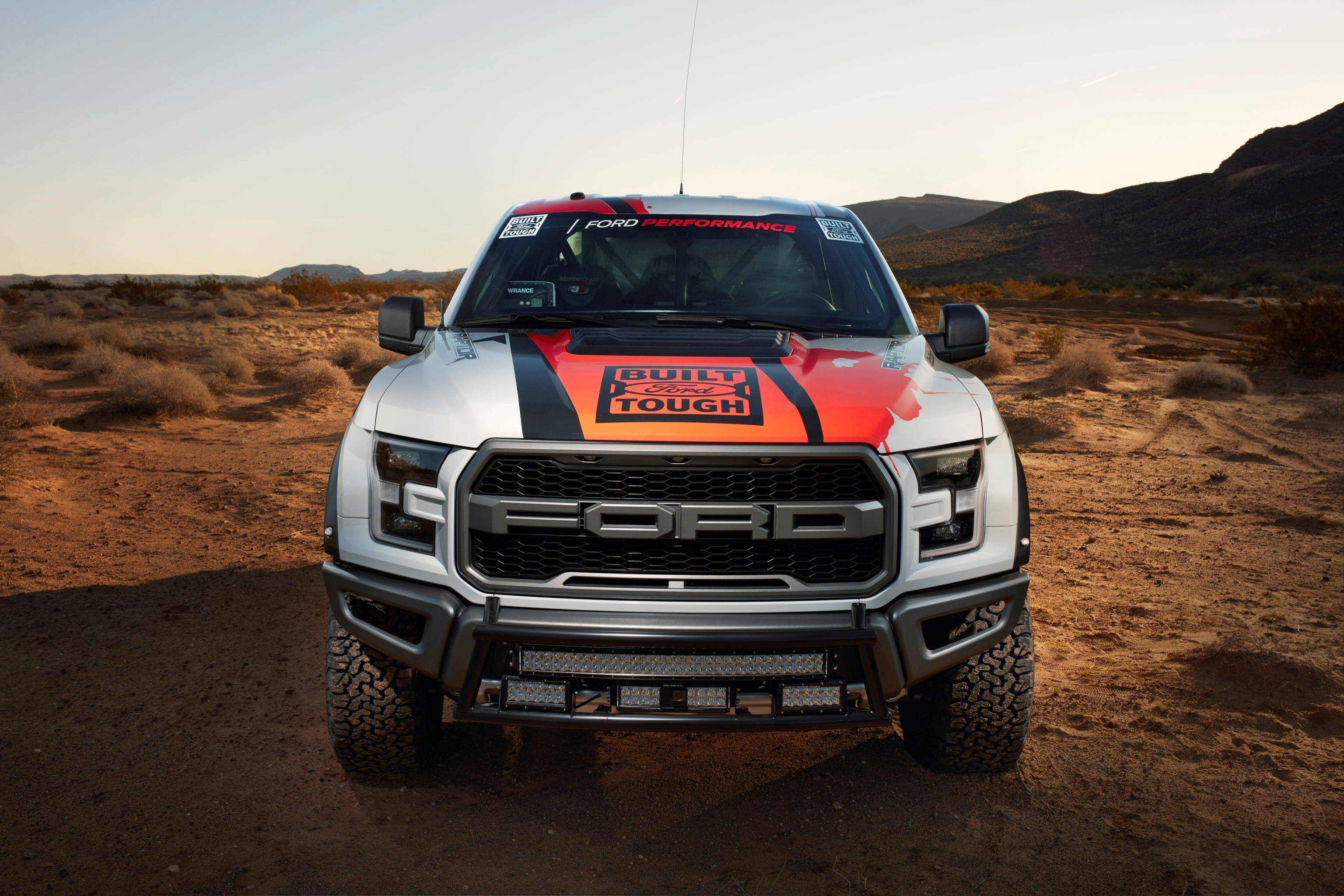Ford F-150 Raptor Race Truck wallpaper HD. Free desktop background .