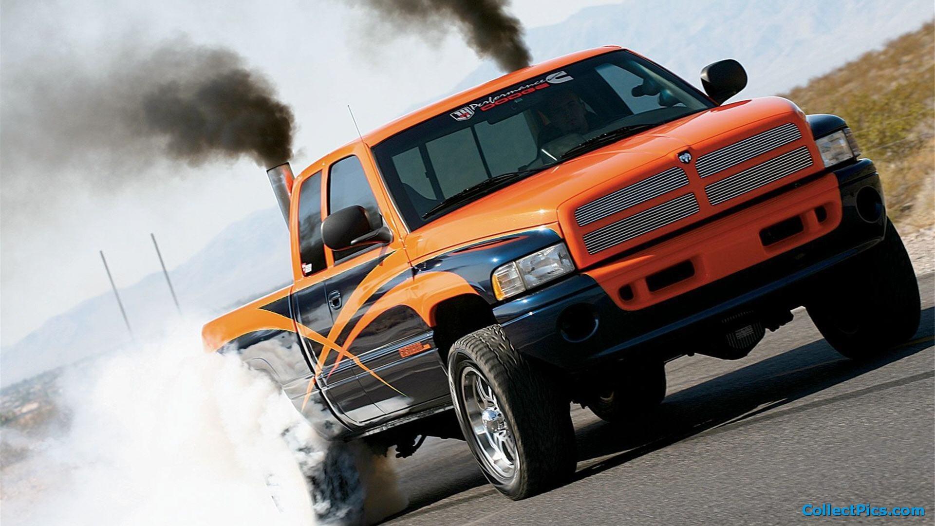 Diesel Truck Smoke Wallpaper