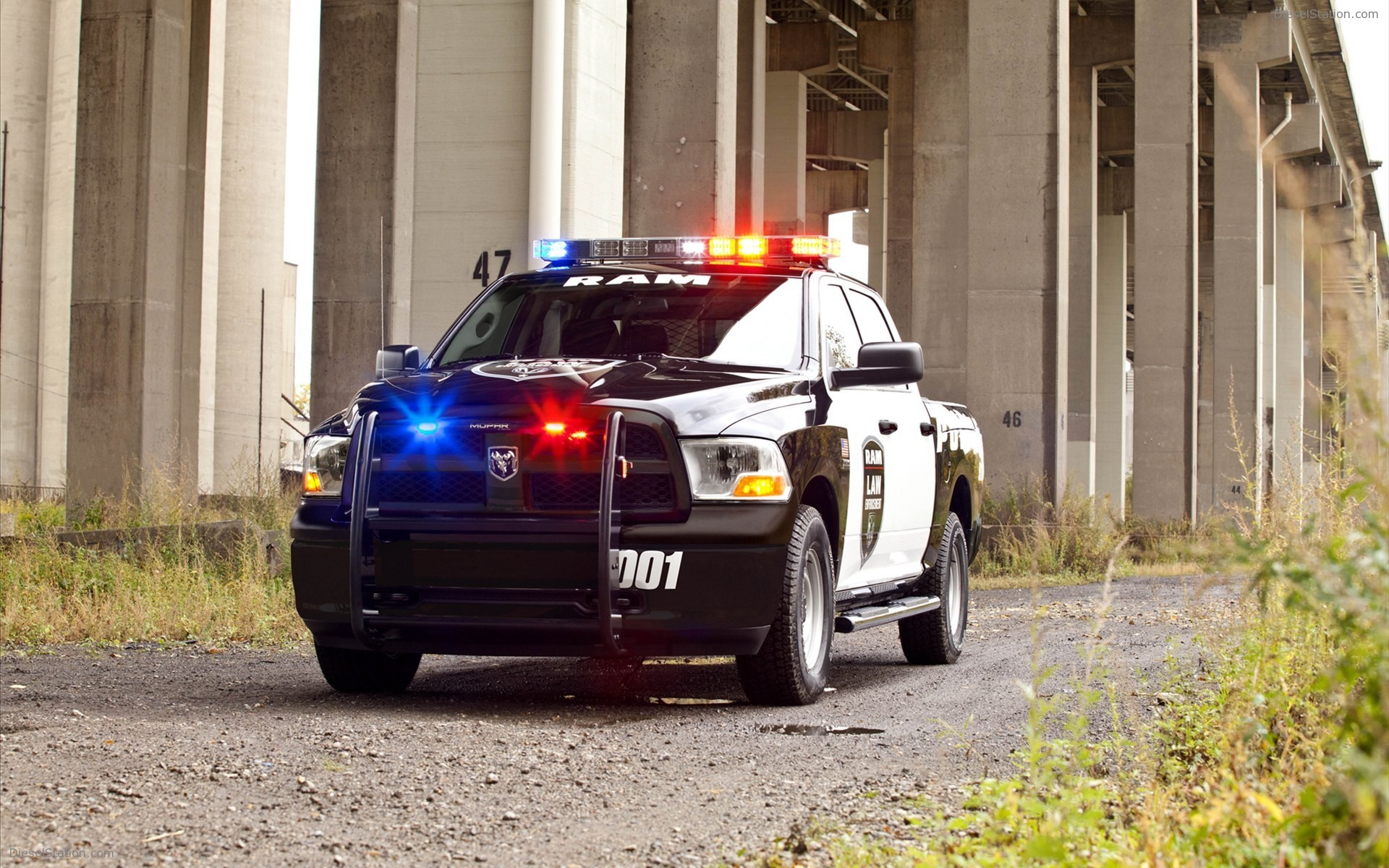 Dodge Ram 1500 Police Truck 2012