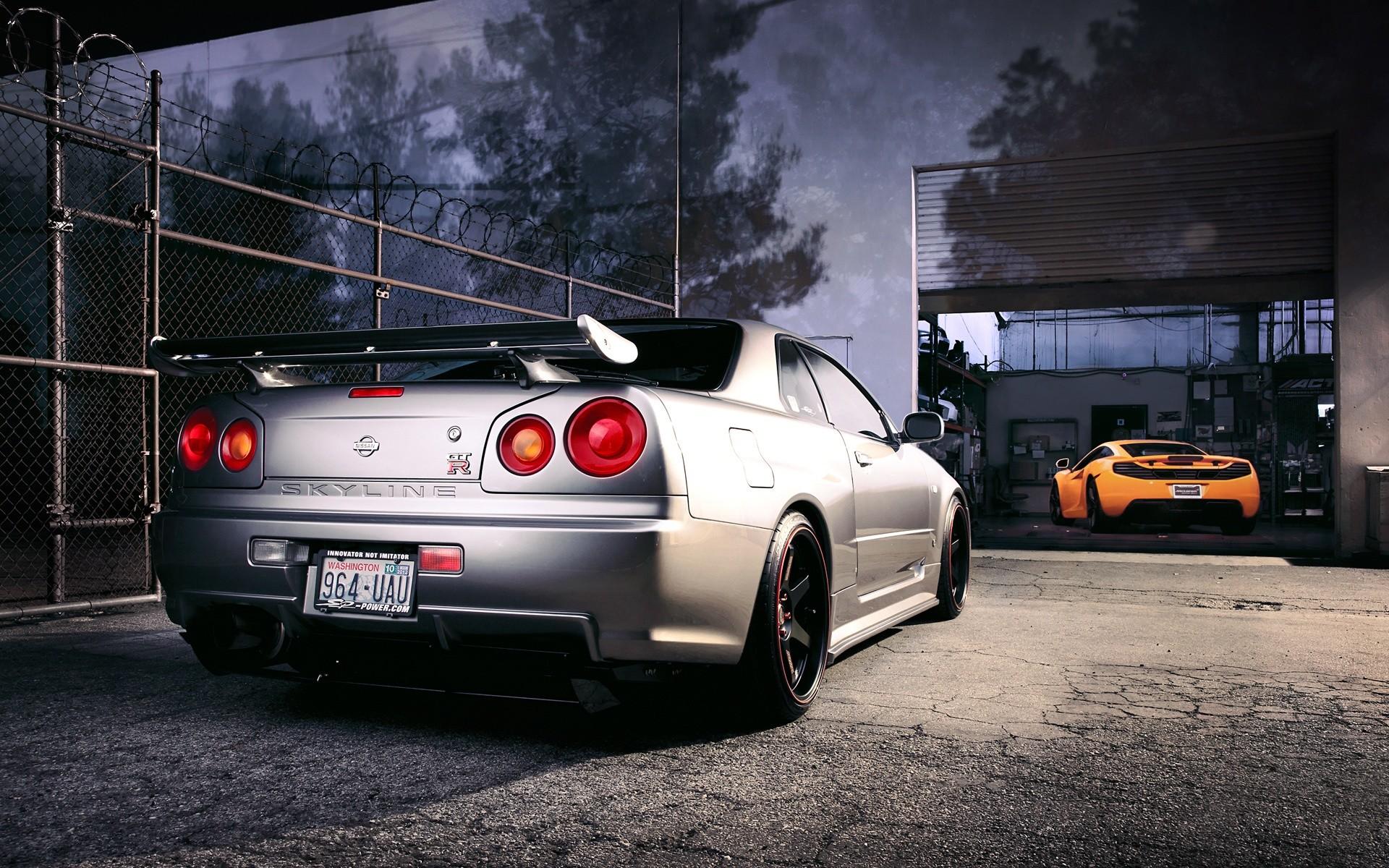 car, Nissan, JDM, Tuning, Nissan Skyline GT R R Wallpapers HD 1920×