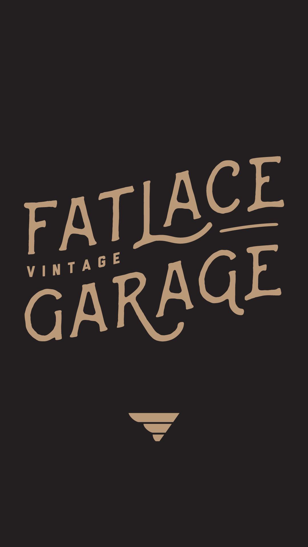 Wallpaper Wednesday: Fatlace Vintage Garage