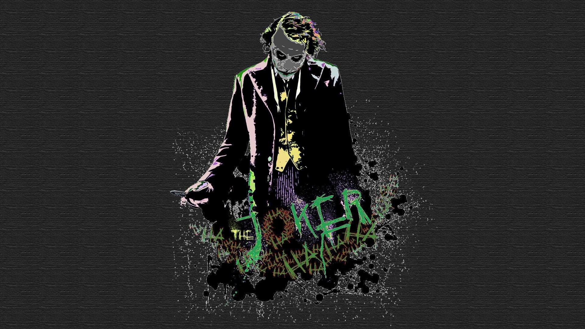 Heath Ledger Joker Wallpaper wallpaper.