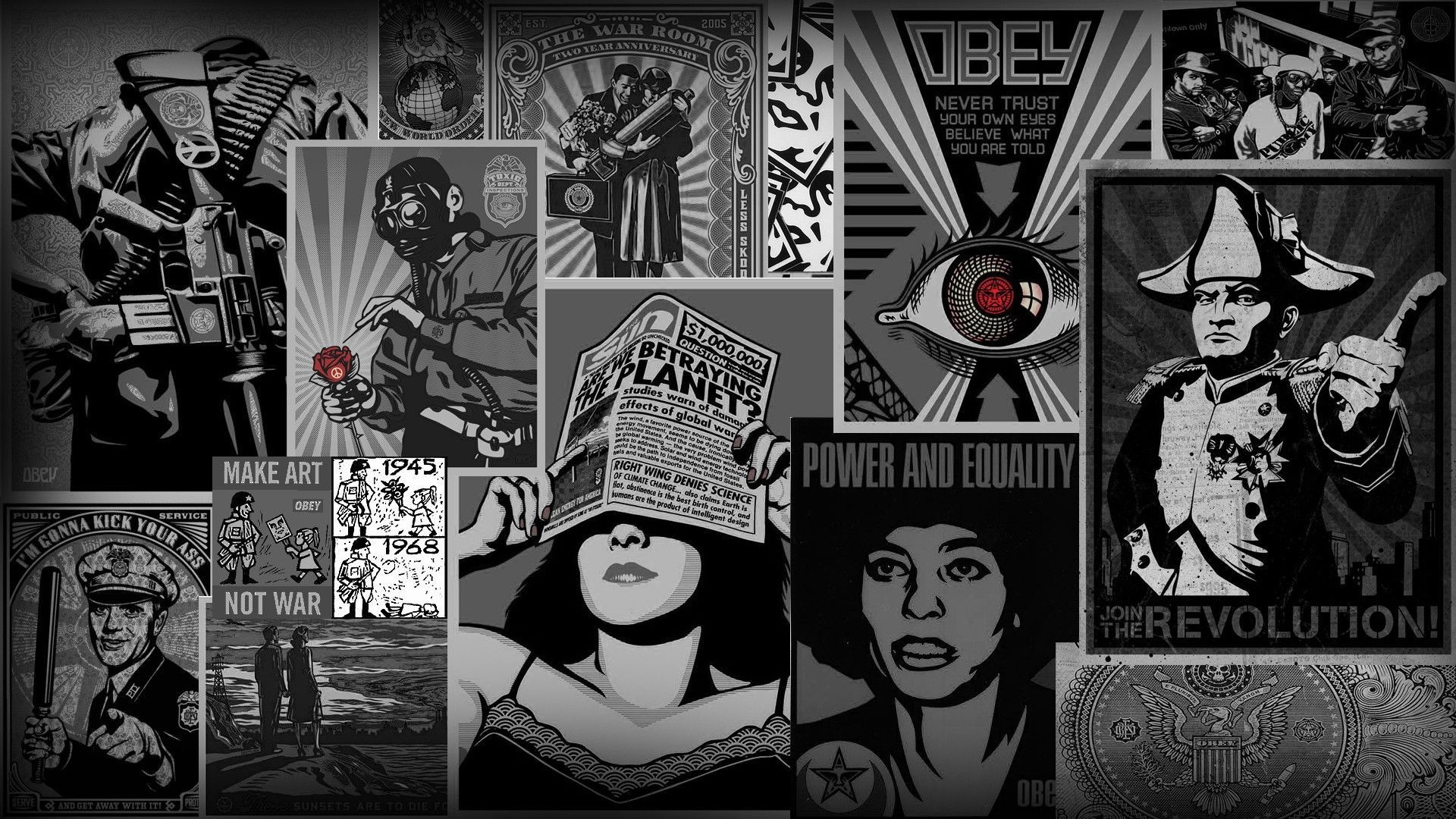 obey, Fantasy Art Wallpapers HD / Desktop and Mobile Backgrounds 1920×1080  Obey Wallpaper