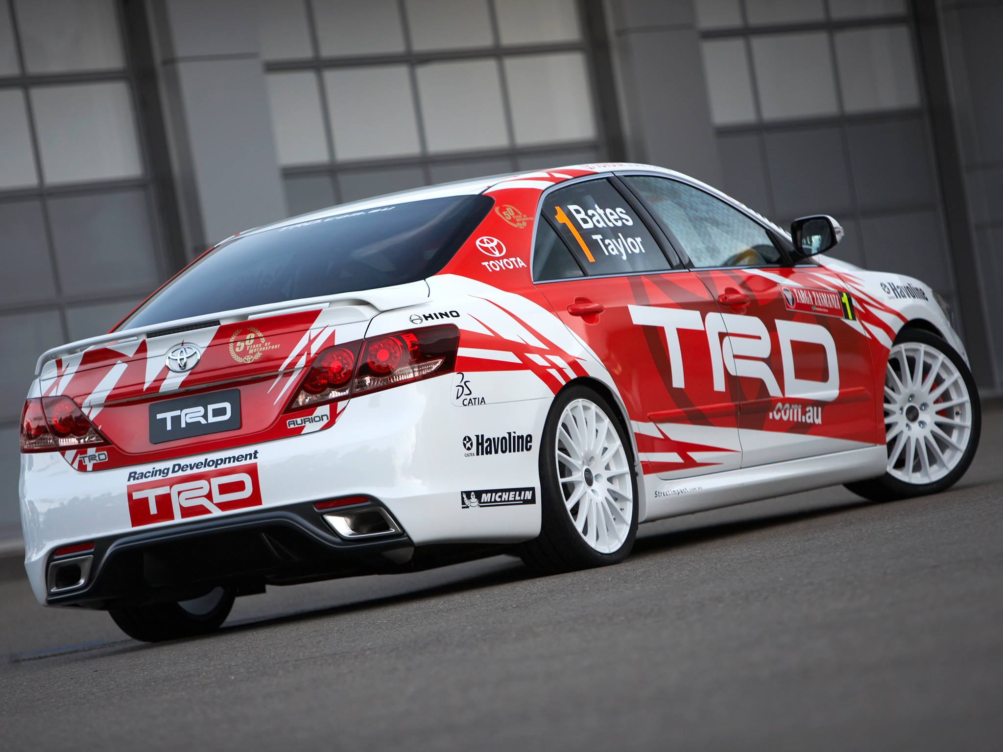 2007 TRD Toyota Aurion Race XV40 racing tuning e wallpaper | |  126005 | WallpaperUP