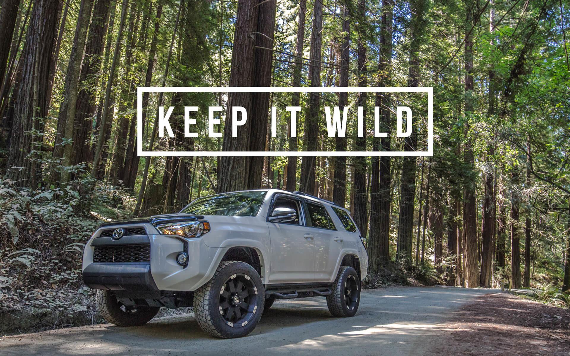 TRD PRO Wallpaper Background – Keep It Wild