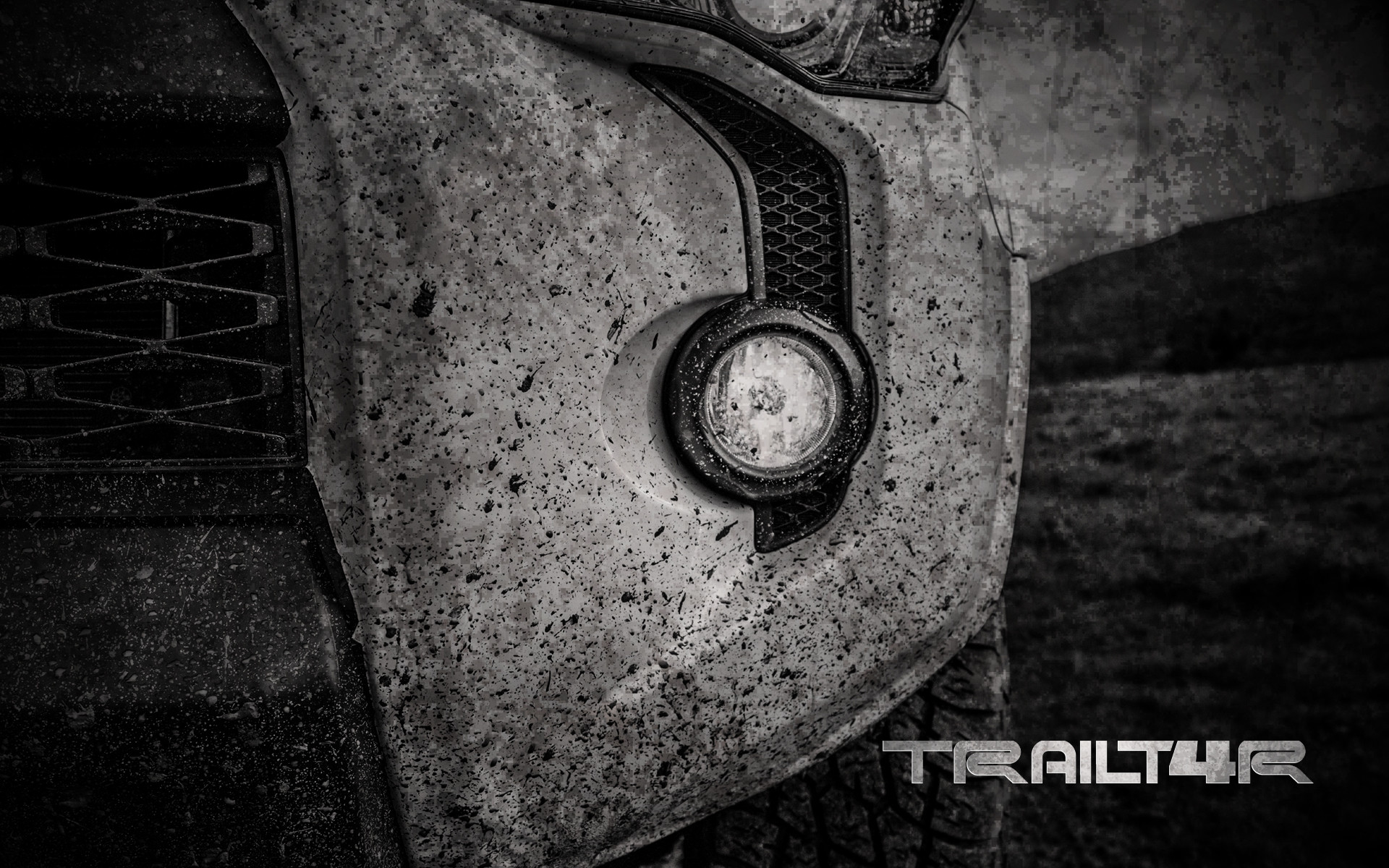 4Runner Grill Wallpaper Background – iPhone