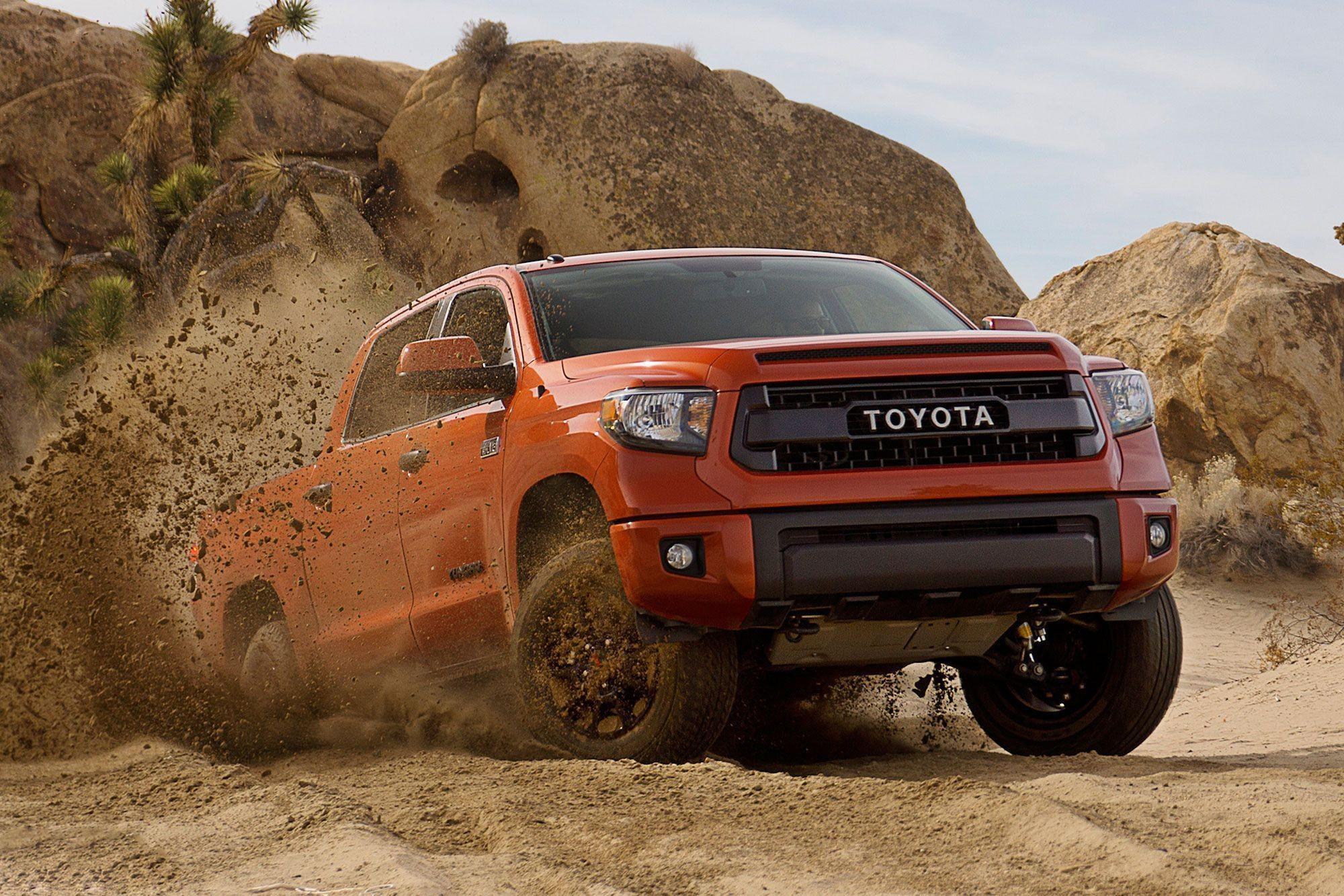 2015 Toyota Tundra TRD Pro Series Wallpaper