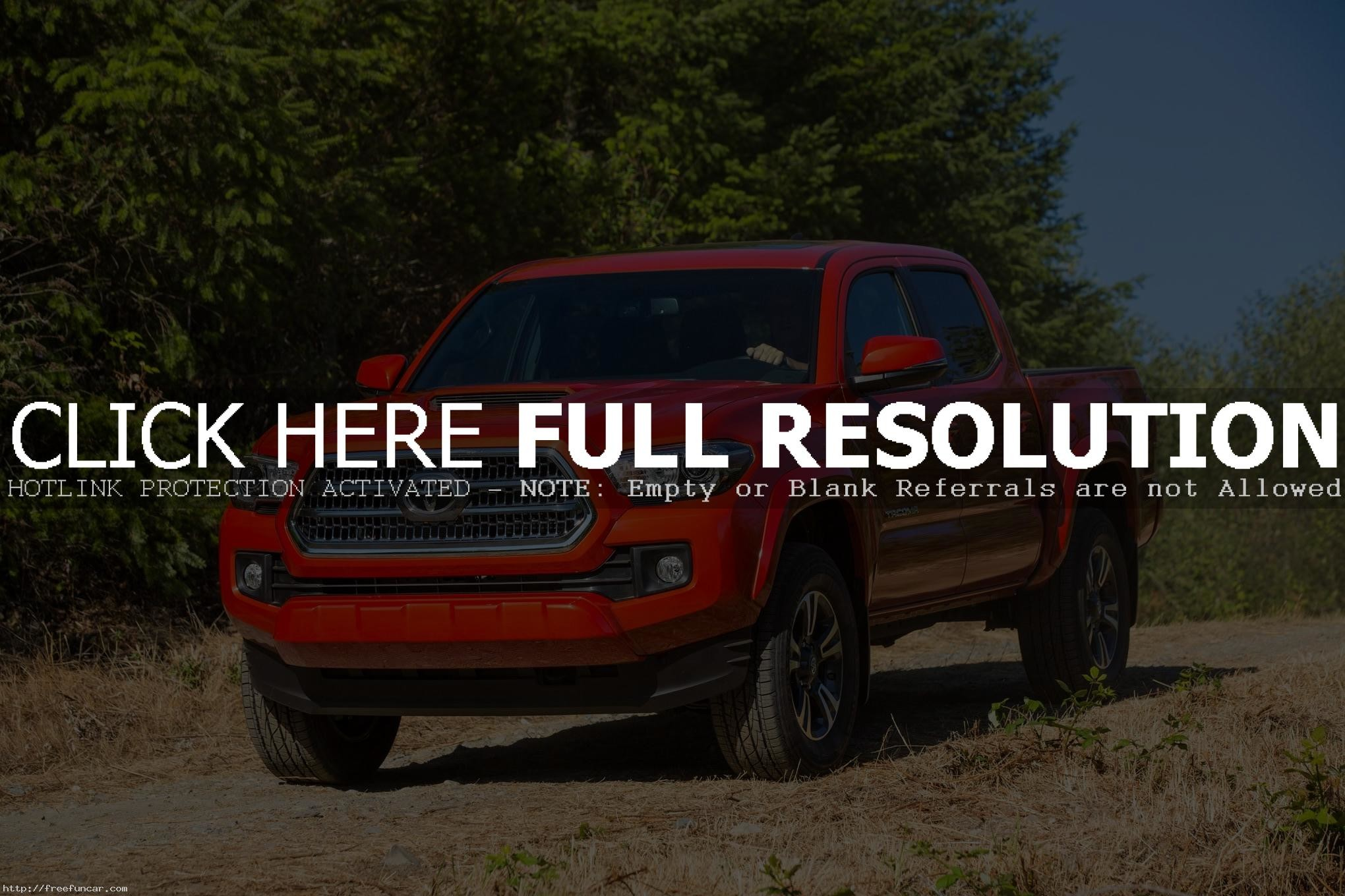 BEST TOYOTA TACOMA TRD SPORT 2016 WALLPAPERS