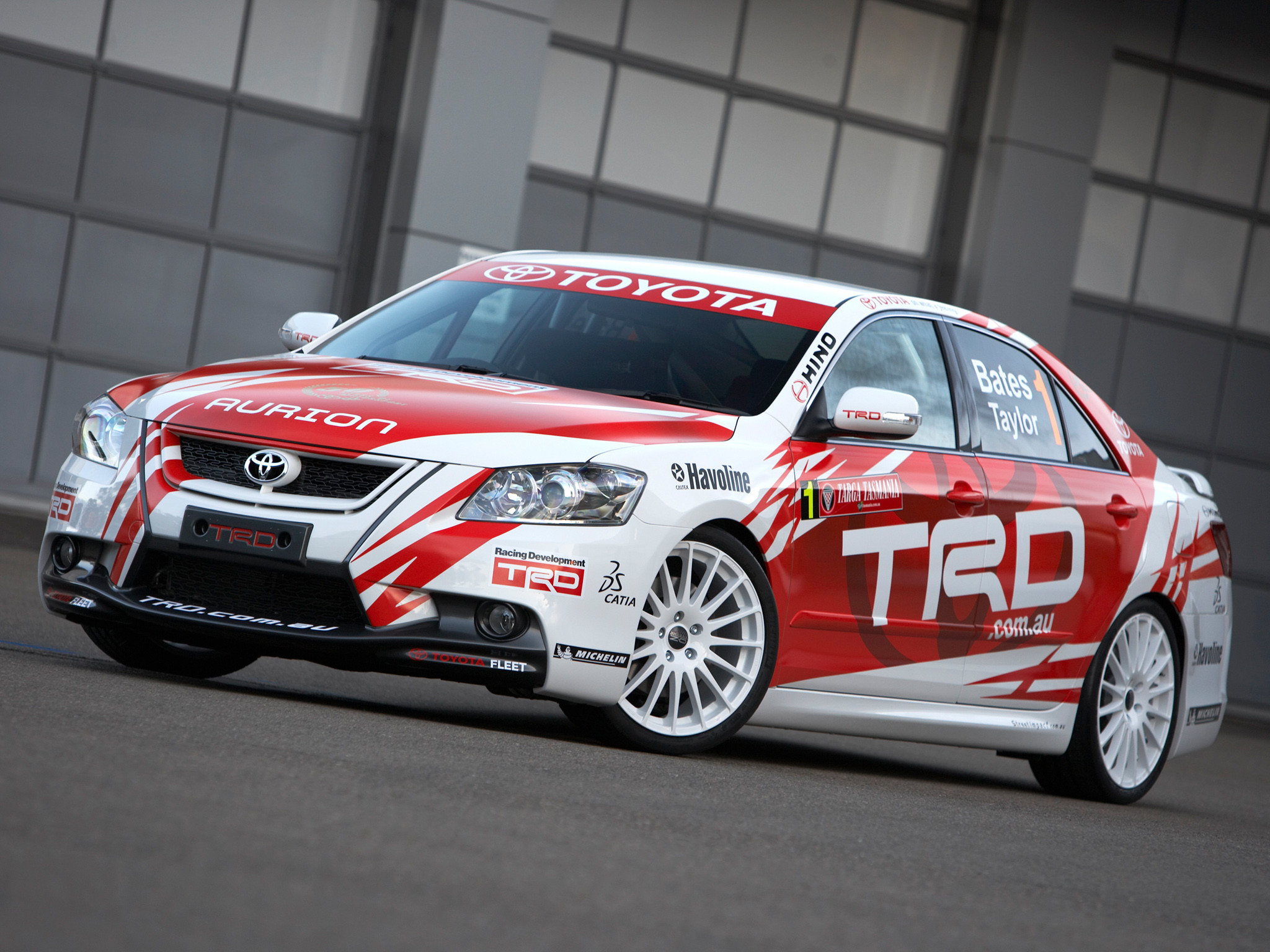 2007 TRD Toyota Aurion Race XV40 racing tuning wallpaper | |  126006 | WallpaperUP