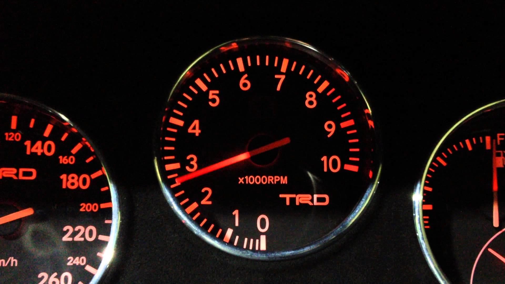 TRD Tachometer Toyota Supra 1994