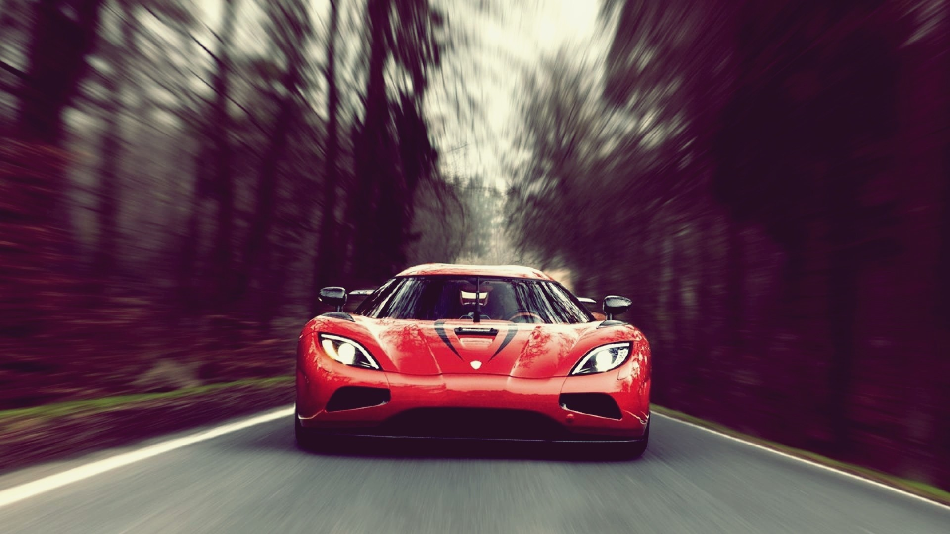 car, Motion Blur, Koenigsegg Agera R, Koenigsegg, Red Cars Wallpapers HD /  Desktop and Mobile Backgrounds