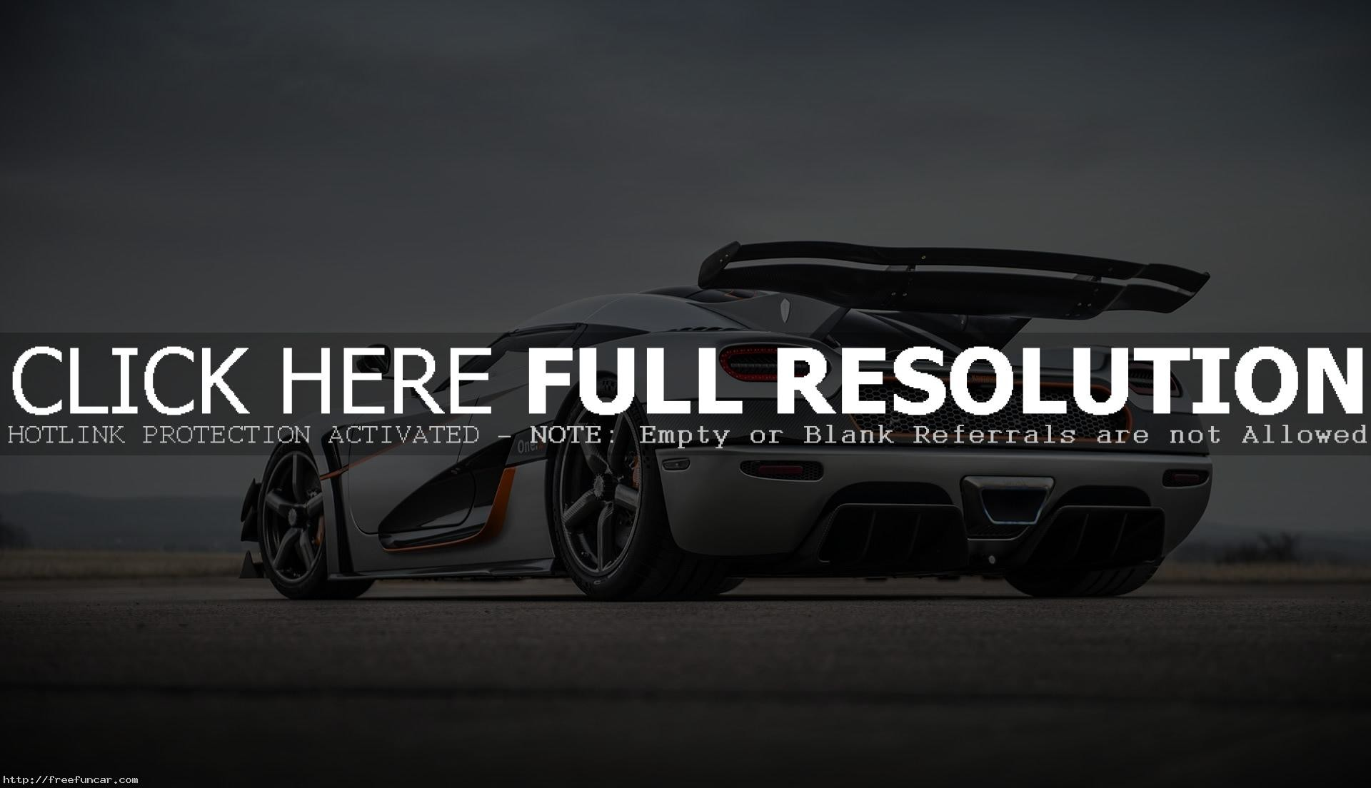 AWESOME KOENIGSEGG ONE 1 WALLPAPERS