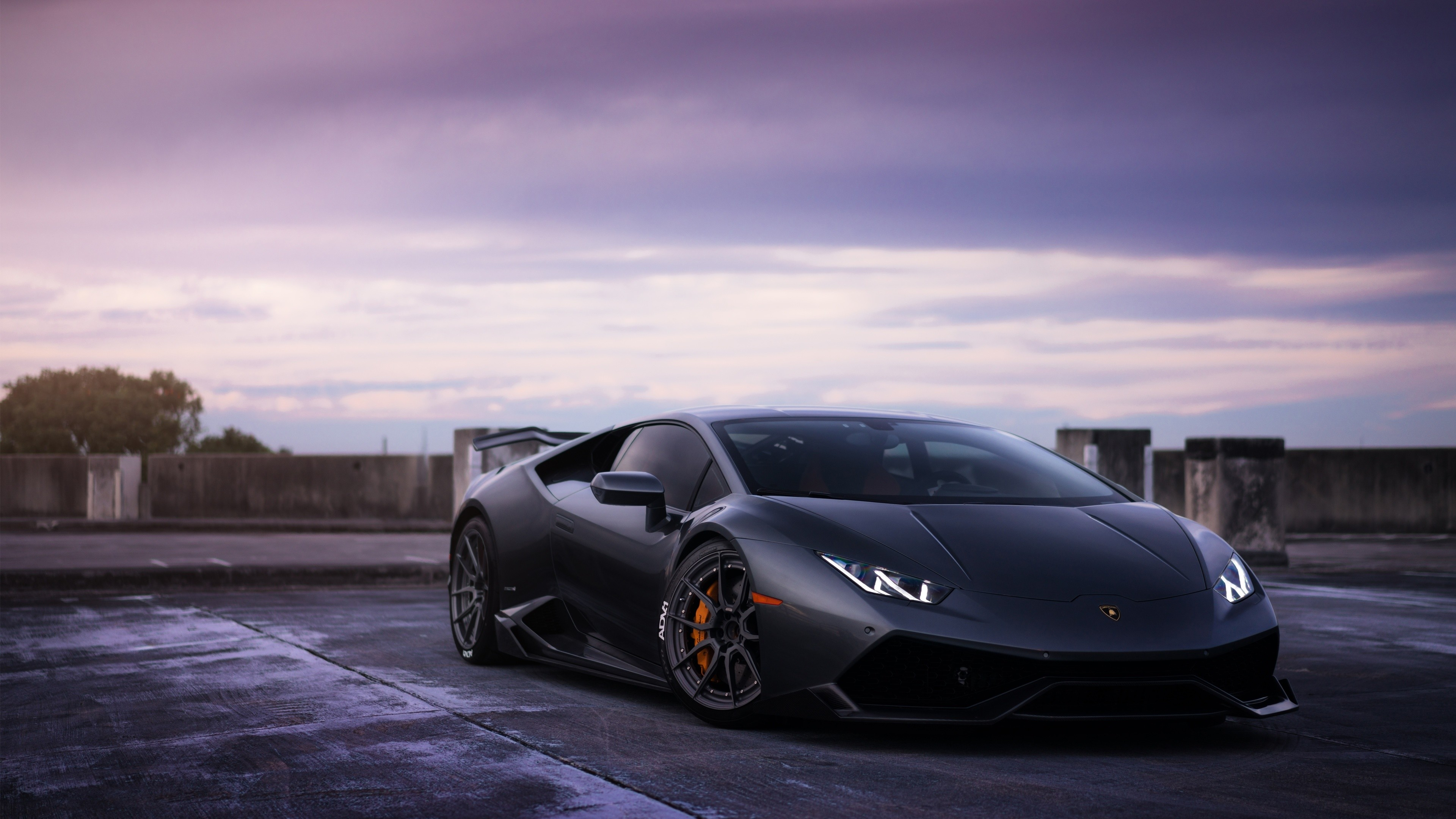 … Lamborghini Huracan on ADV1 wheels 3 Wallpaper HD Car Wallpapers