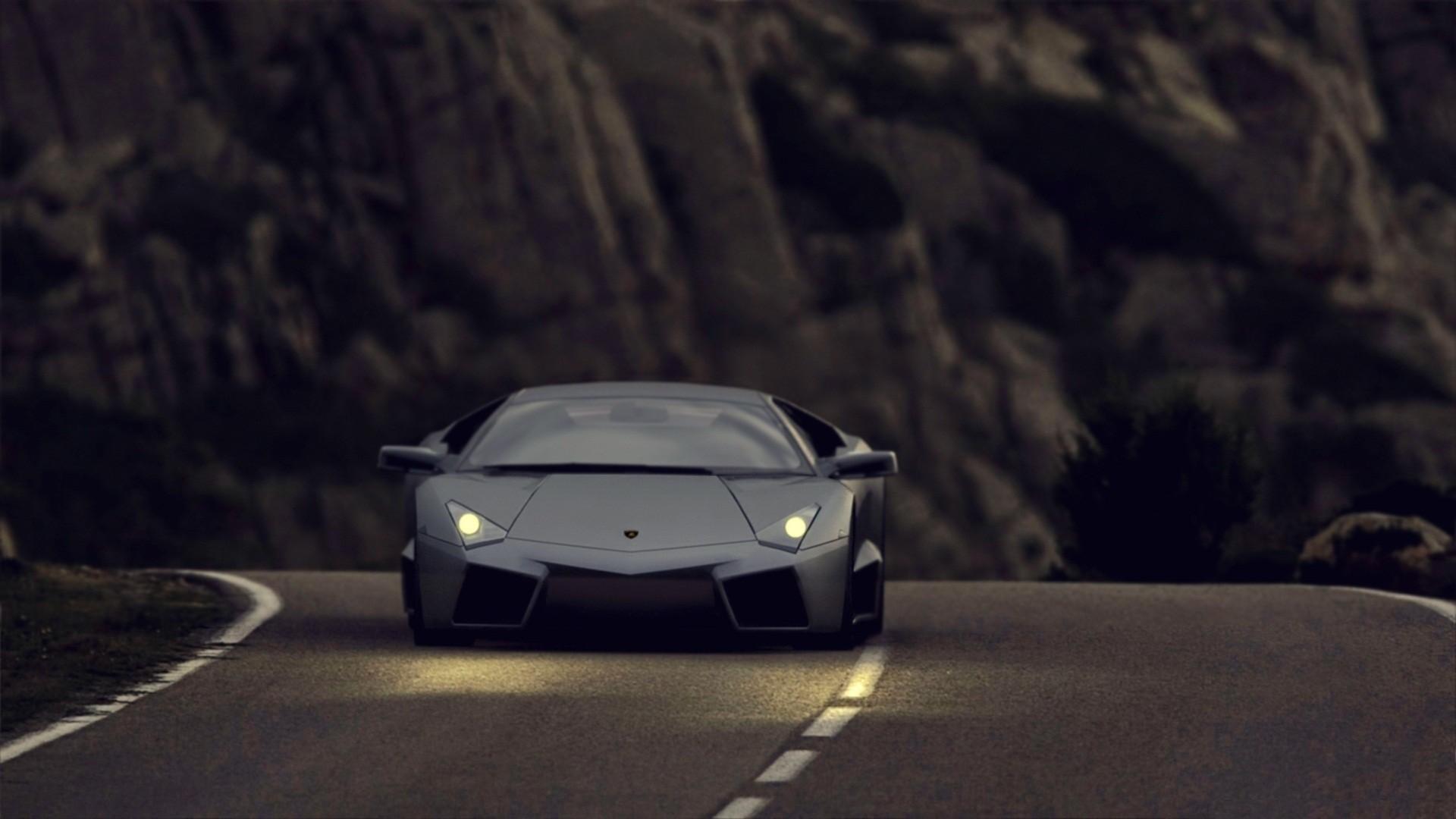 Lamborghini Dark wallpapers HD for desktop.