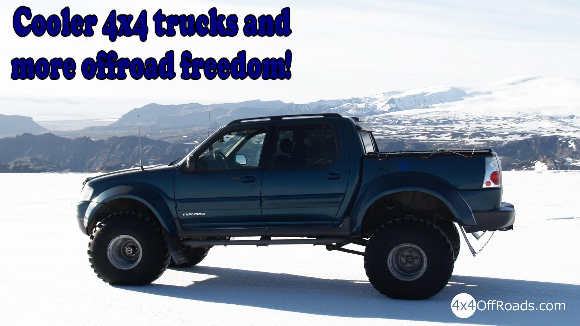 Cooler 4×4 Truck!