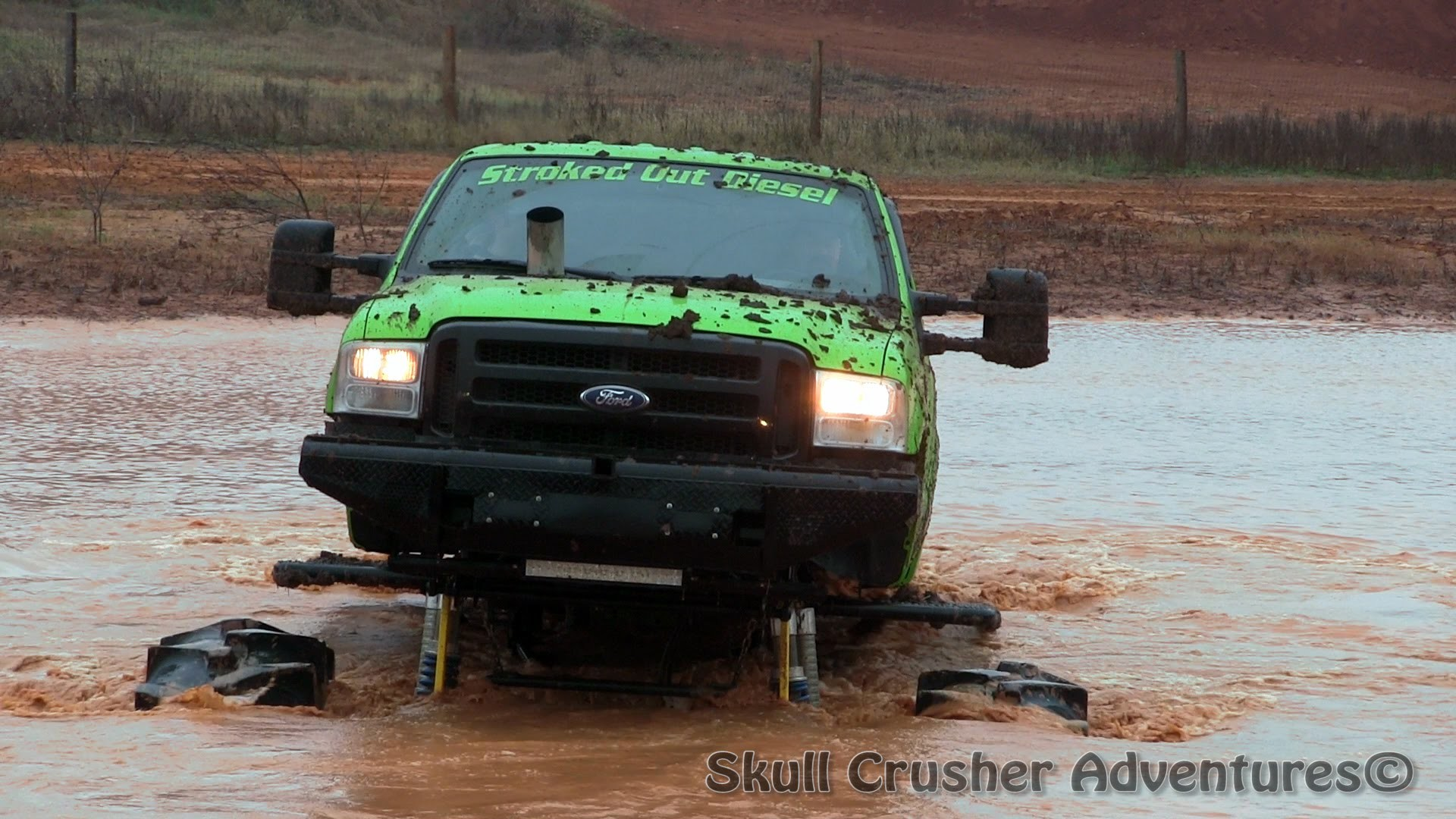 We Bet Your Lifted Truck Couldn't Handle Water Like This…