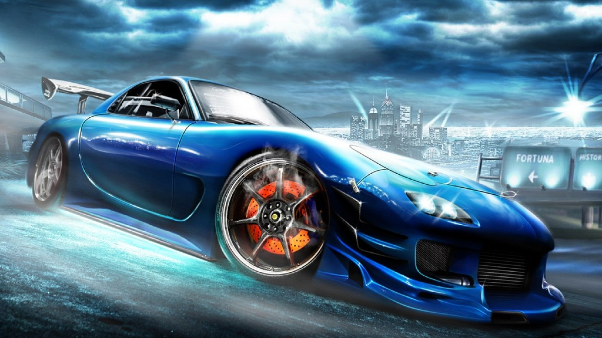 Awesome Mazda rx7 Wallpaper. 1920×1080