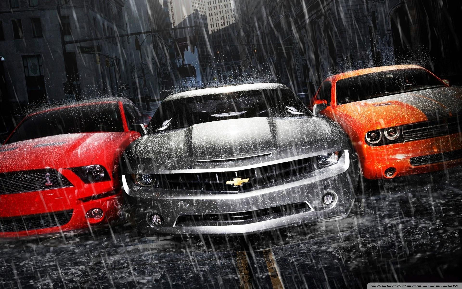 Muscle Cars Hd Desktop Wallpaper High Definition Mobile