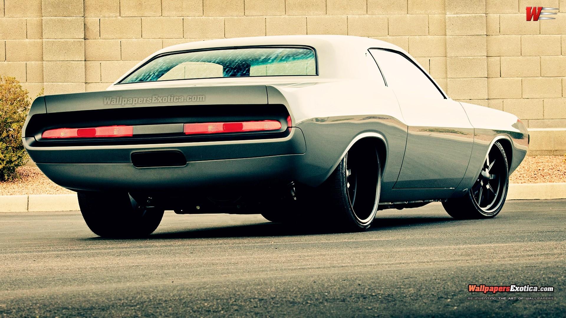 Pin Dodge Challenger Muscle Car Wallpaper on Pinterest