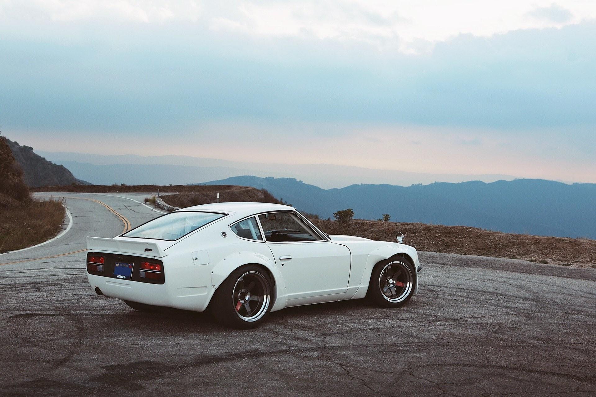 Datsun 240Z cars coupe modified white wallpaper | | 888030 |  WallpaperUP
