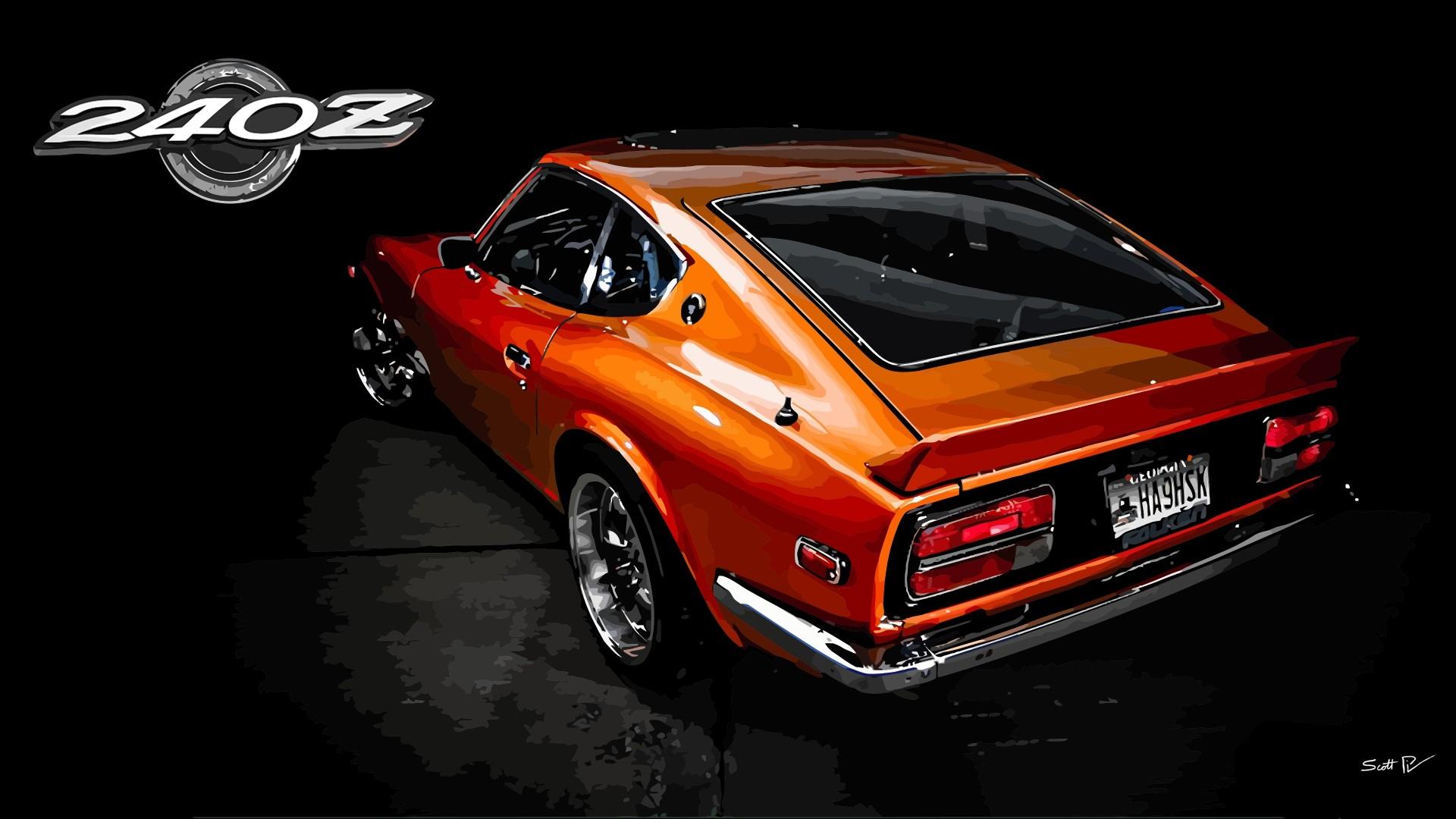 Datsun 240z Hd Desktop Background HD wallpapers
