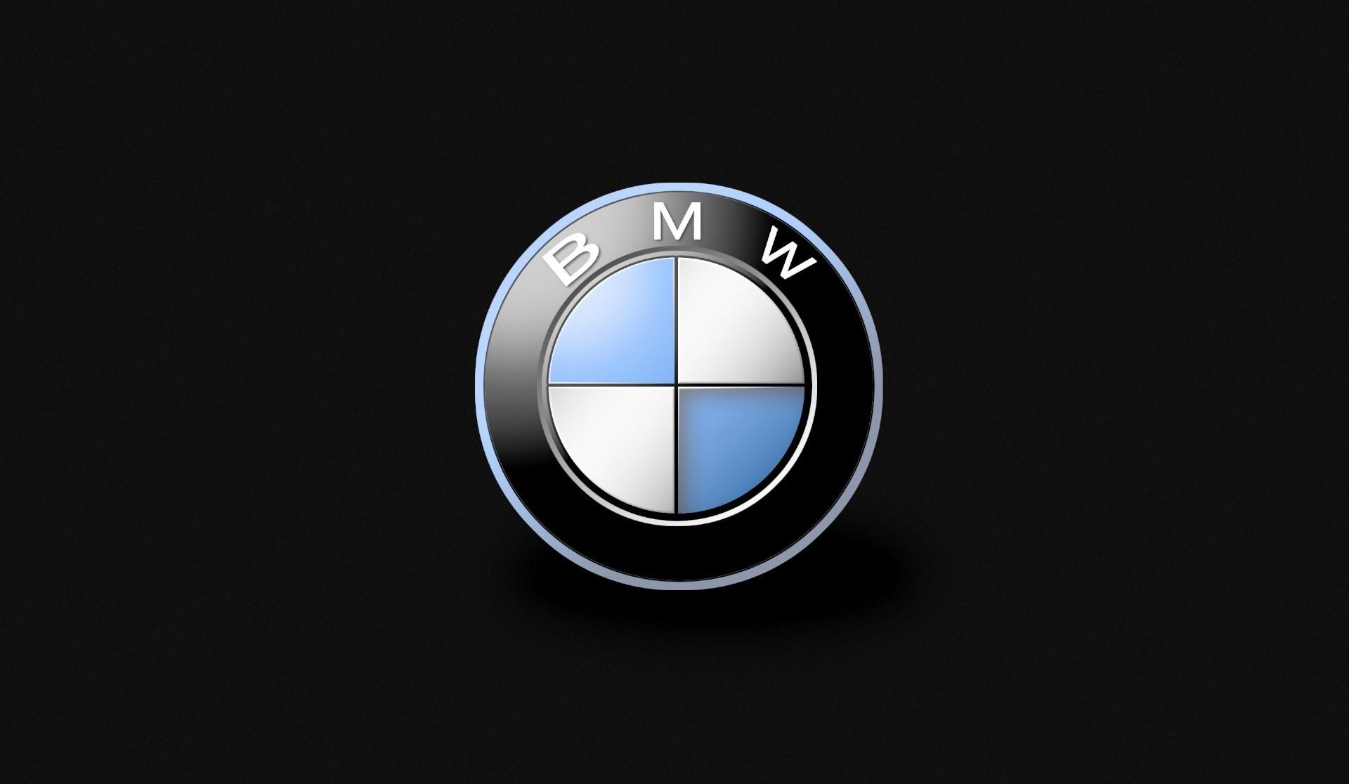 BMW Brand Cars Full HD Black Desktop Logo Wallpapers