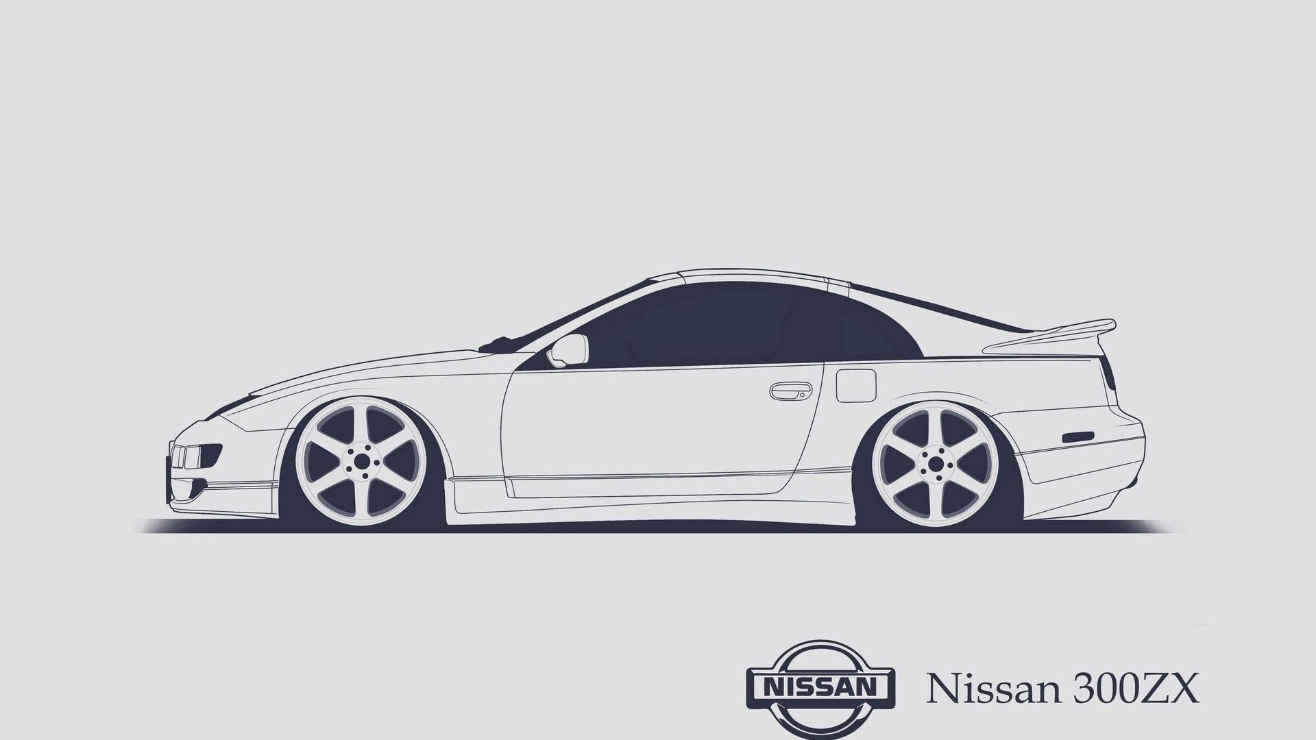 wallpaper.wiki-Nissan-300zx-Vector-Pictures-PIC-WPD001553