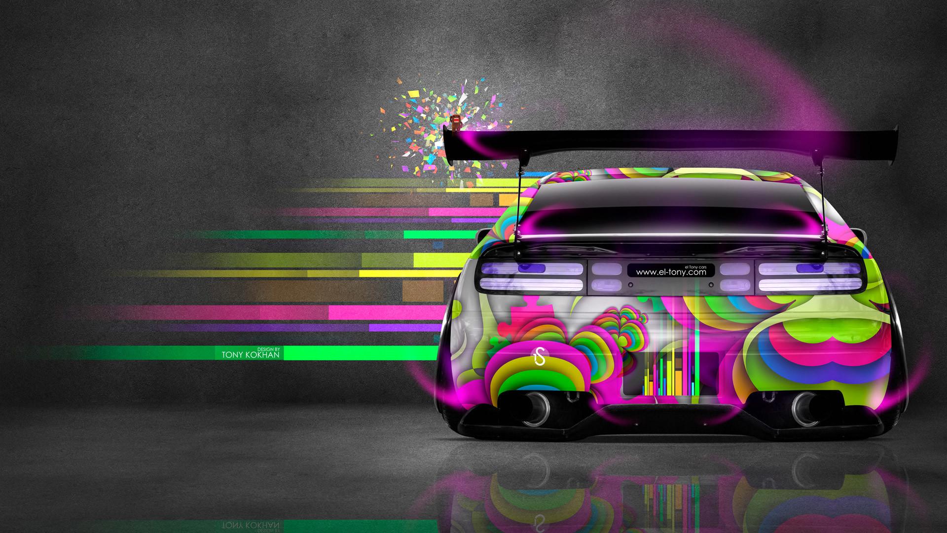 Nissan 300ZX JDM Back Domo Kun Toy Car 2014