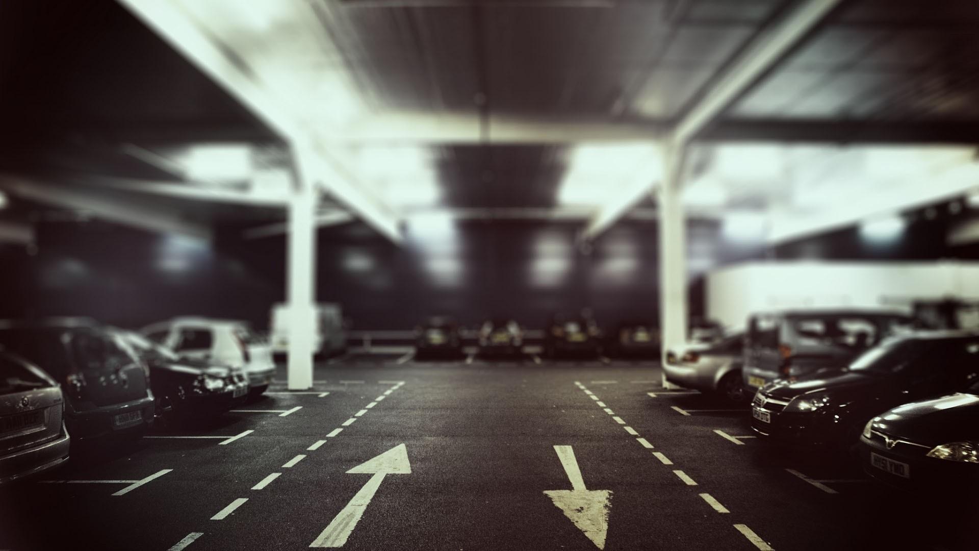 Free Parking Lot Wallpaper