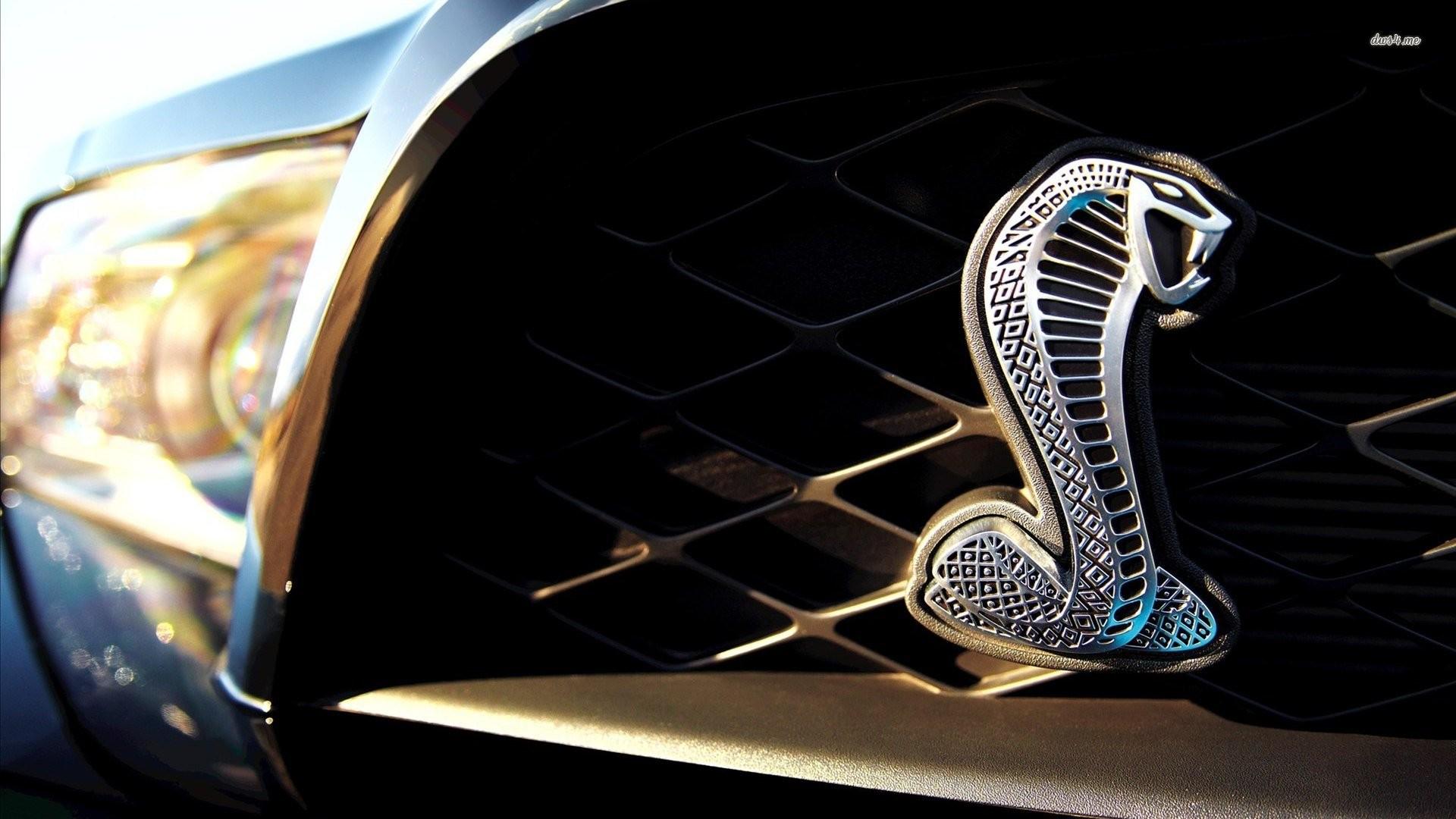 Shelby Mustang Logo Wallpaper