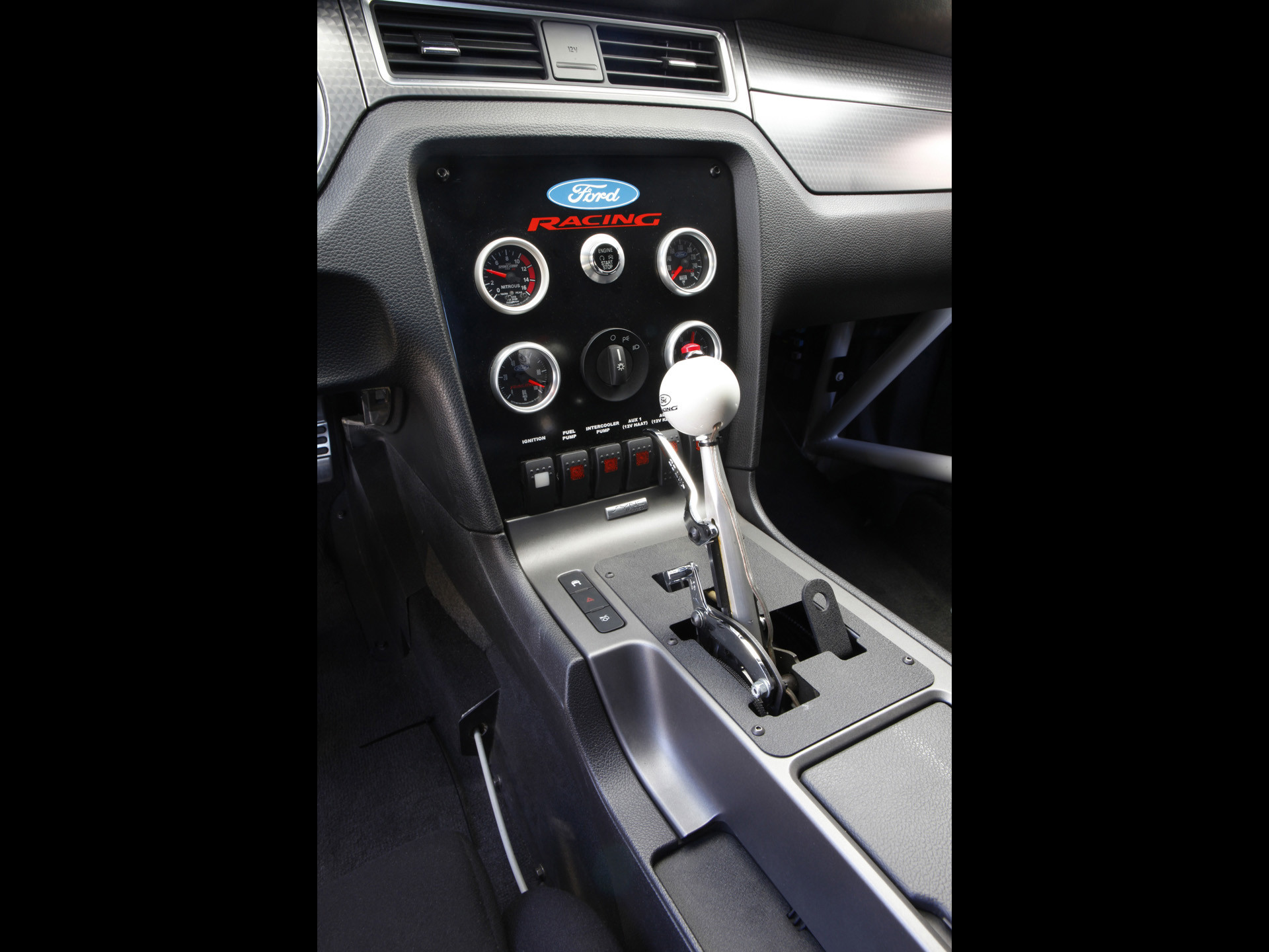 2012 Ford Mustang Cobra Jet Twin-Turbo Concept – Console – –  Wallpaper