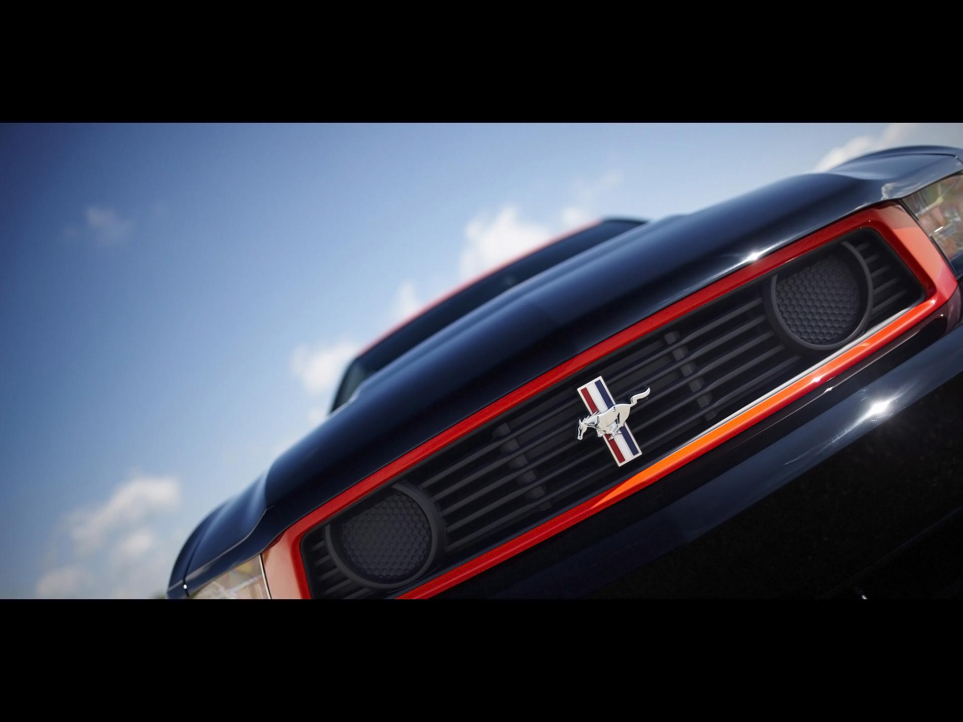 2012 Ford Mustang Boss 302 Laguna Seca – Front Grille Emblem – –  Wallpaper