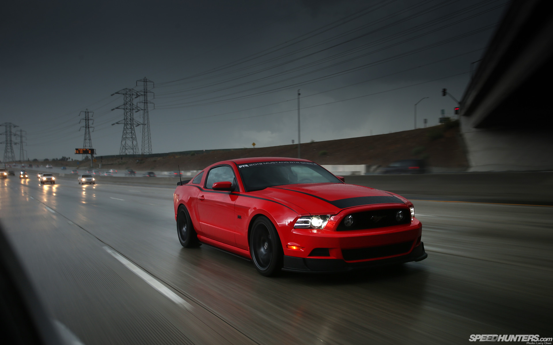 Ford mustang highway road cars vehicles wallpaper | | 39869 |  WallpaperUP